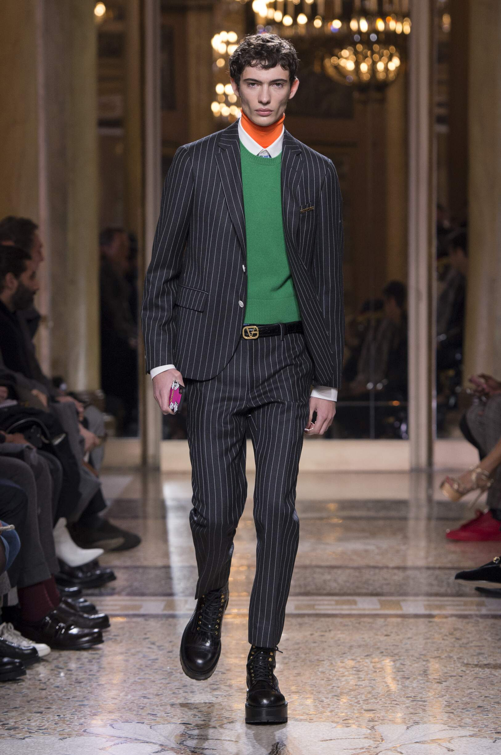 2018 Versace Fall Winter Man