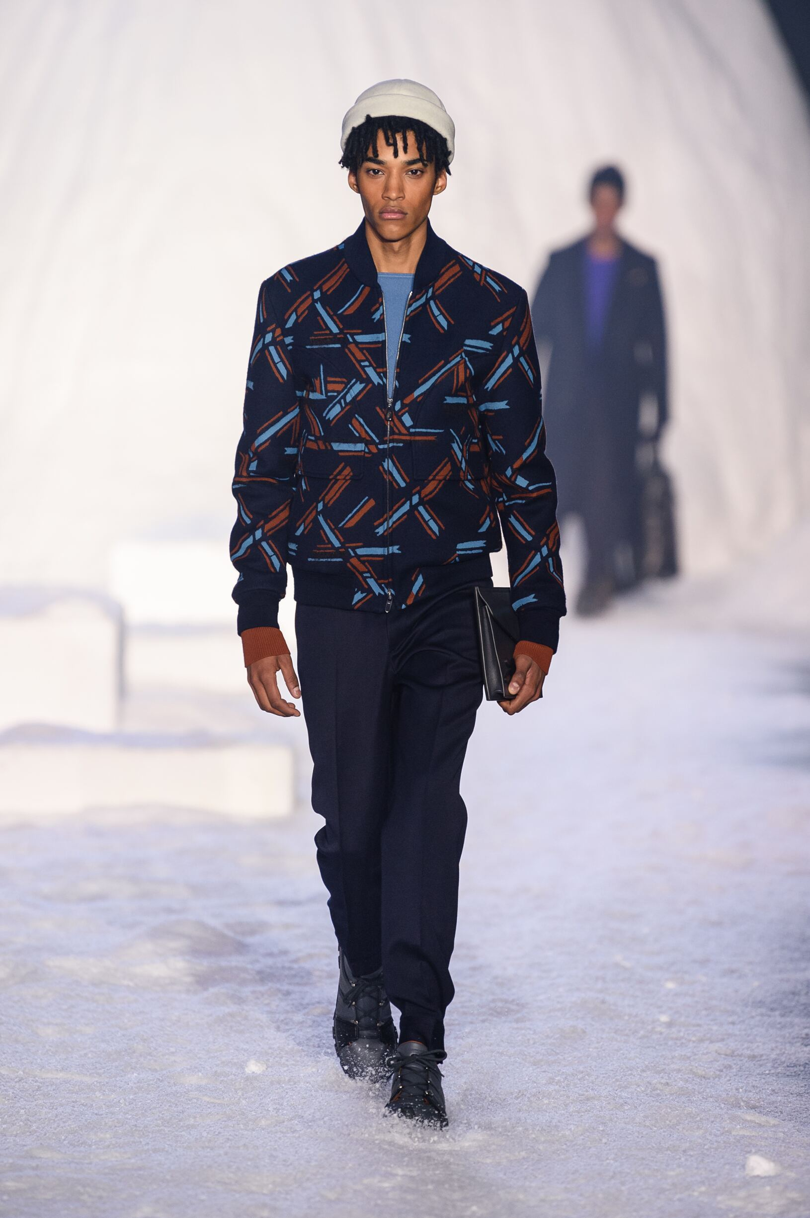 Catwalk Ermenegildo Zegna Couture Man Fashion Show Winter 2018