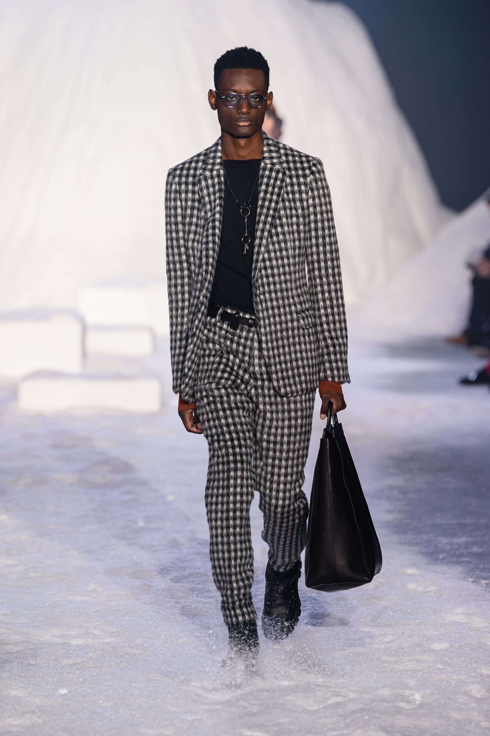 Catwalk Ermenegildo Zegna Couture Winter 2018