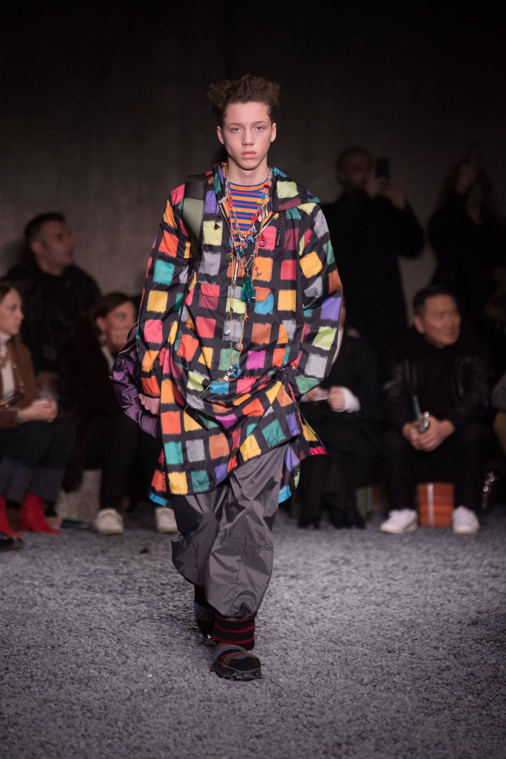 Catwalk Marni Man Fashion Show Winter 2018