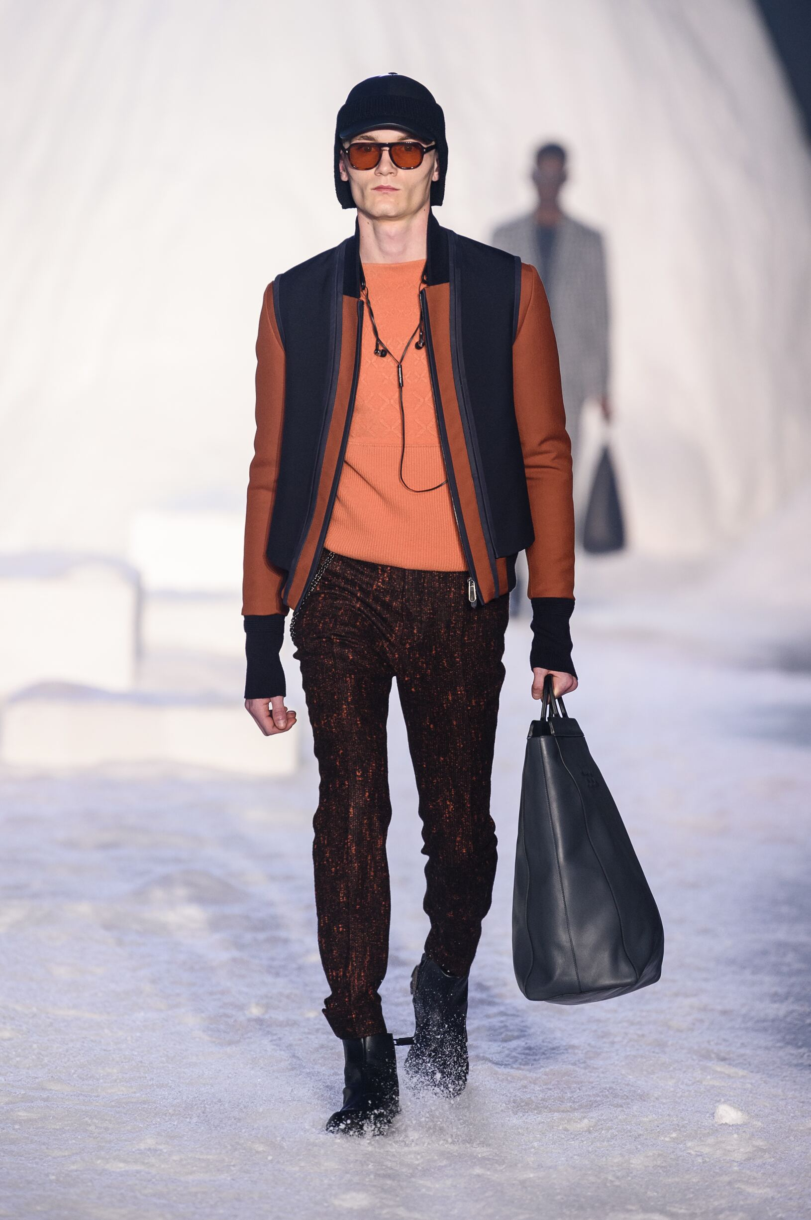 Ermenegildo Zegna Couture Fall 2018 Catwalk