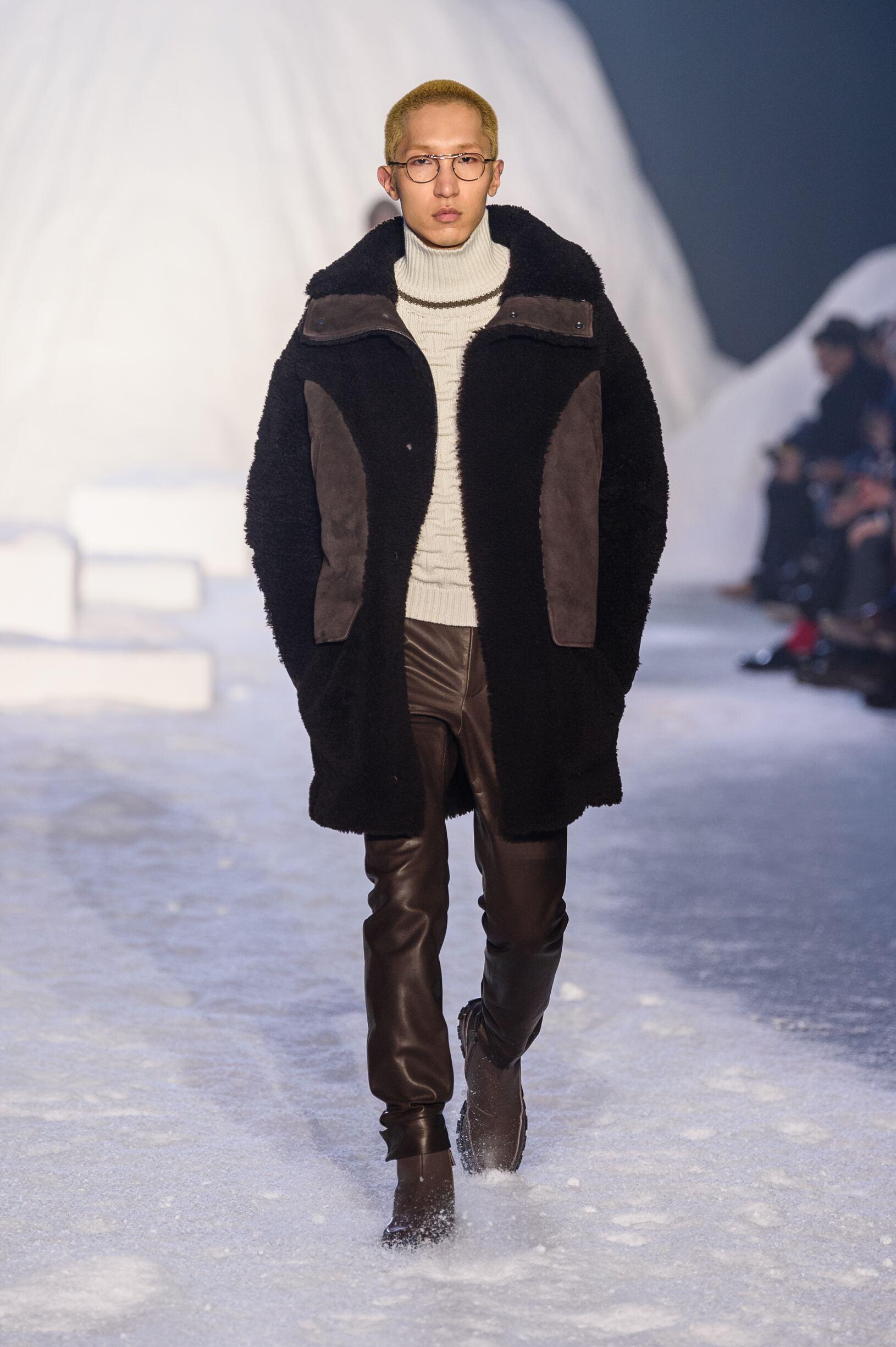 Ermenegildo Zegna Couture Fall Winter 2018 Mens Collection Milan Fashion Week
