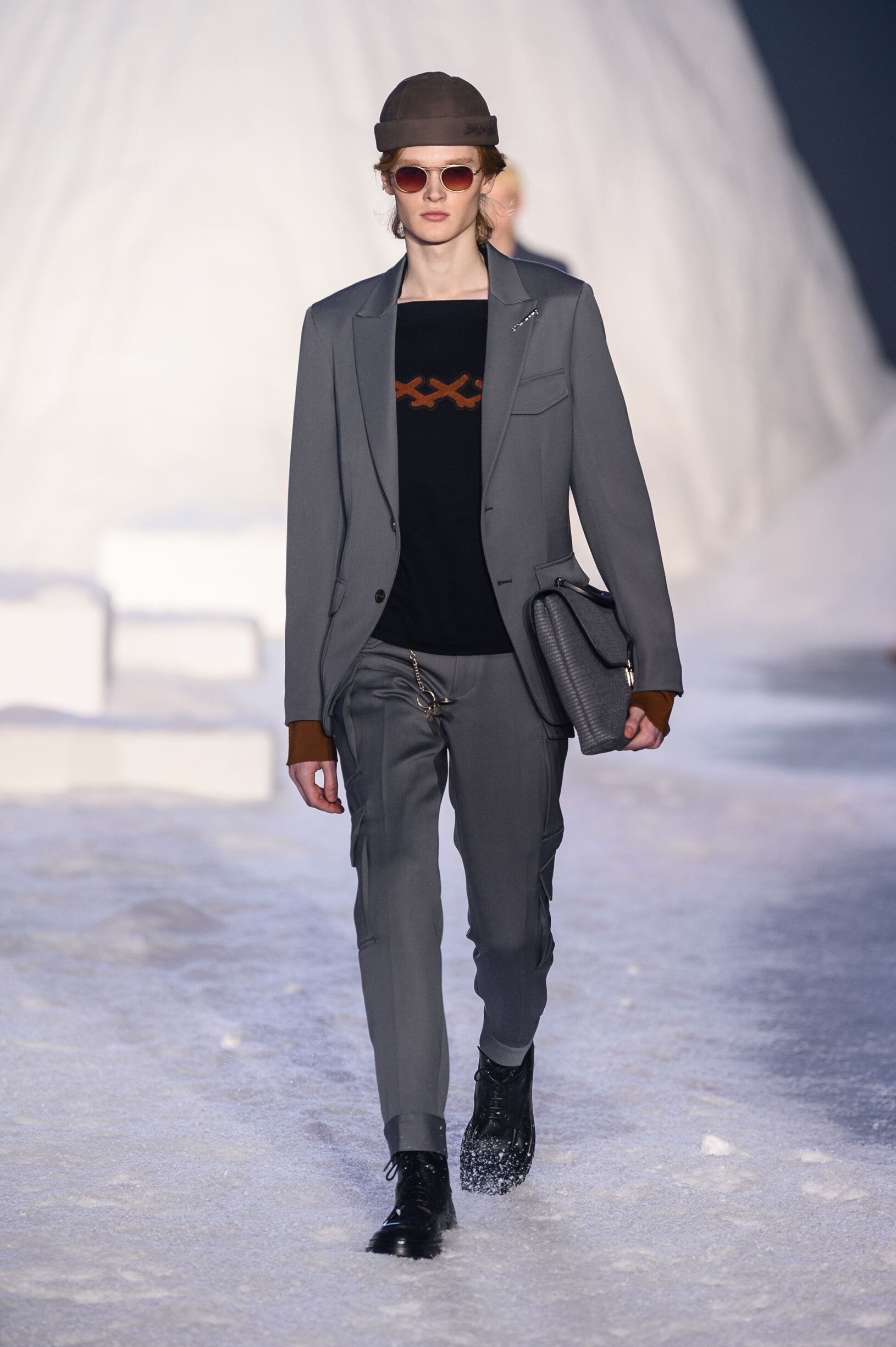 ERMENEGILDO ZEGNA COUTURE FALL WINTER 2018 MEN'S ...