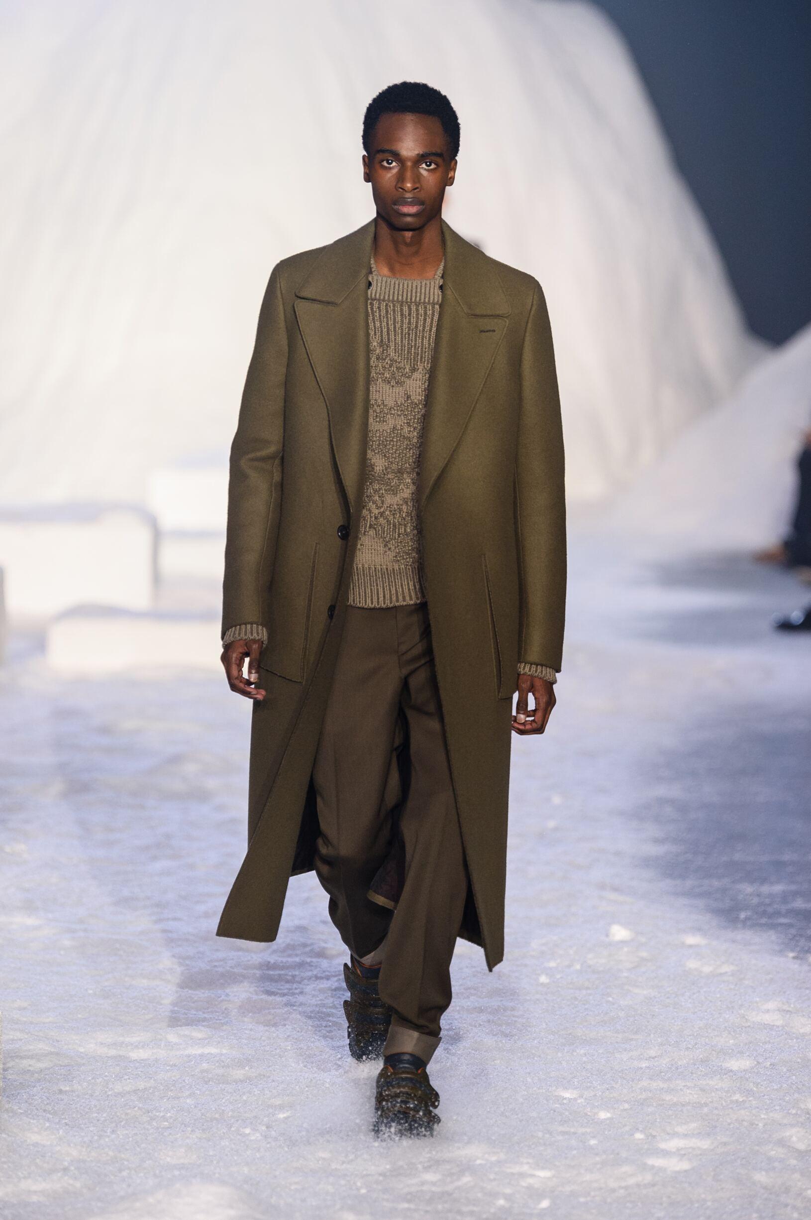 Fall 2018-19 Menswear Ermenegildo Zegna Couture