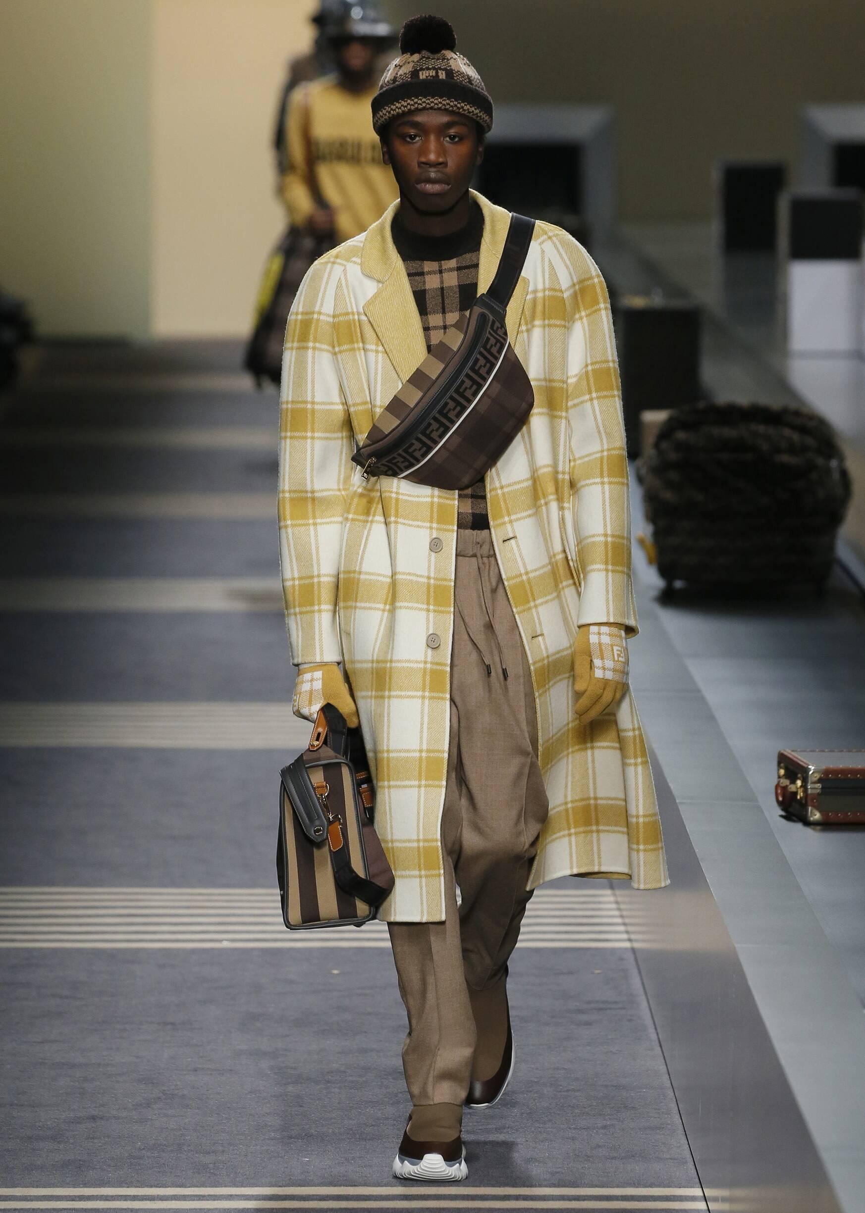 Fall Fashion Man Trends 2018 Fendi