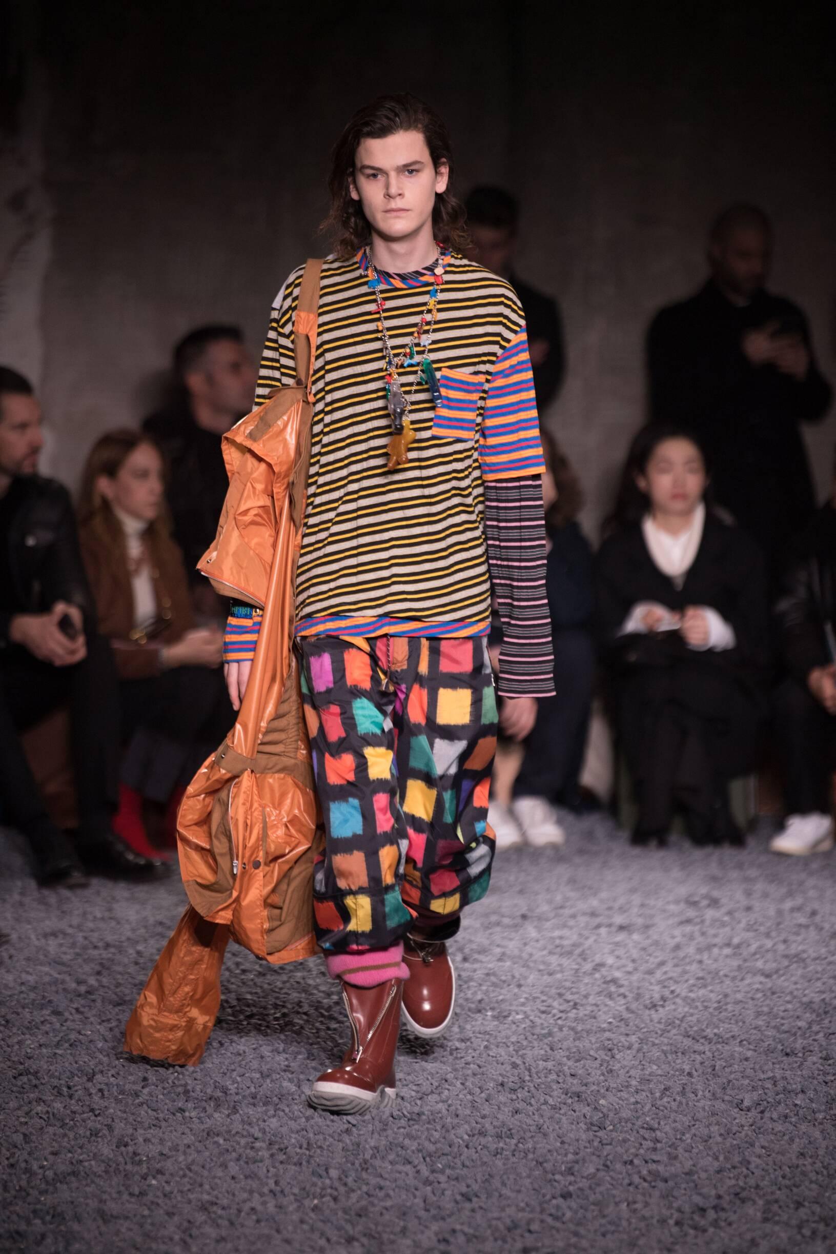 Fall Fashion Man Trends 2018 Marni
