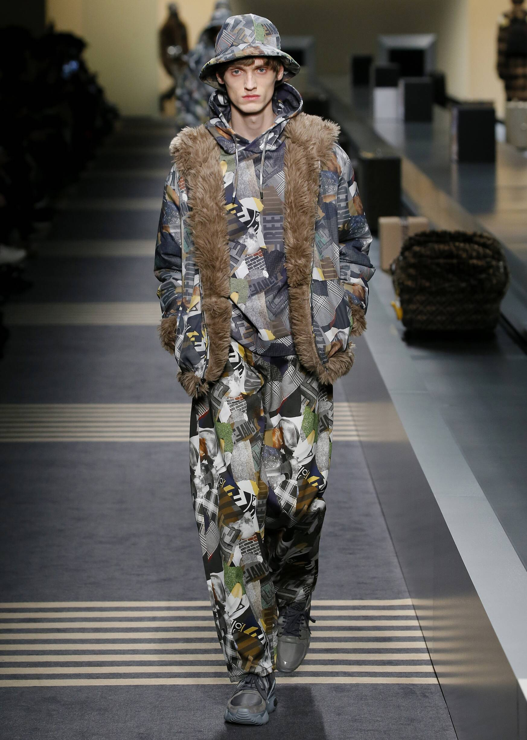 Fall Winter 2018 Man Milan Fendi Collection