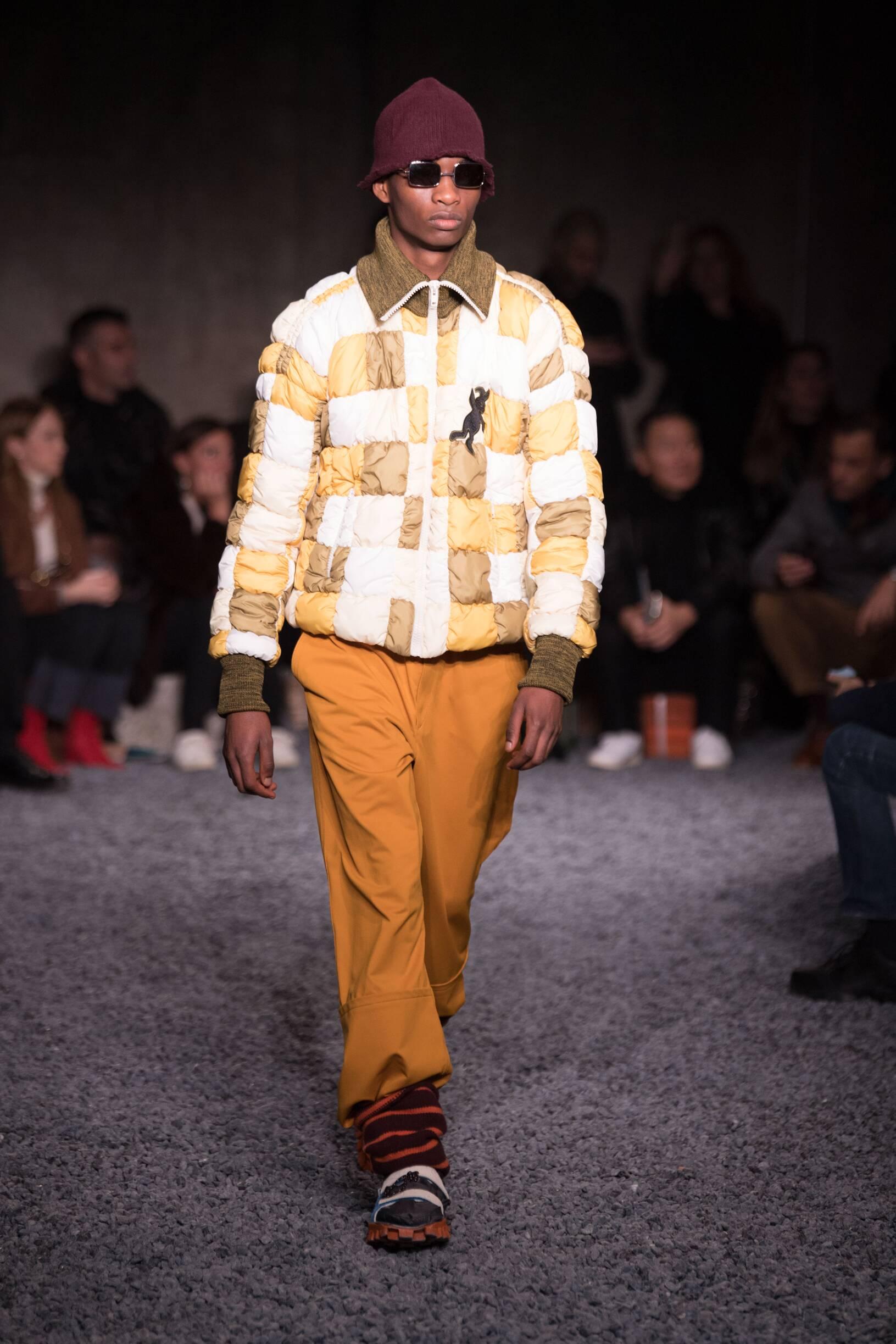 Fall Winter 2018 Man Milan Marni Collection