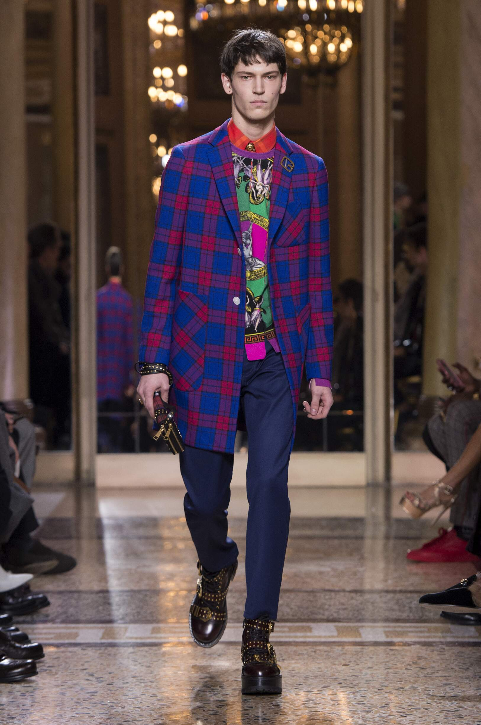 Fall Winter 2018 Man Milan Versace Collection