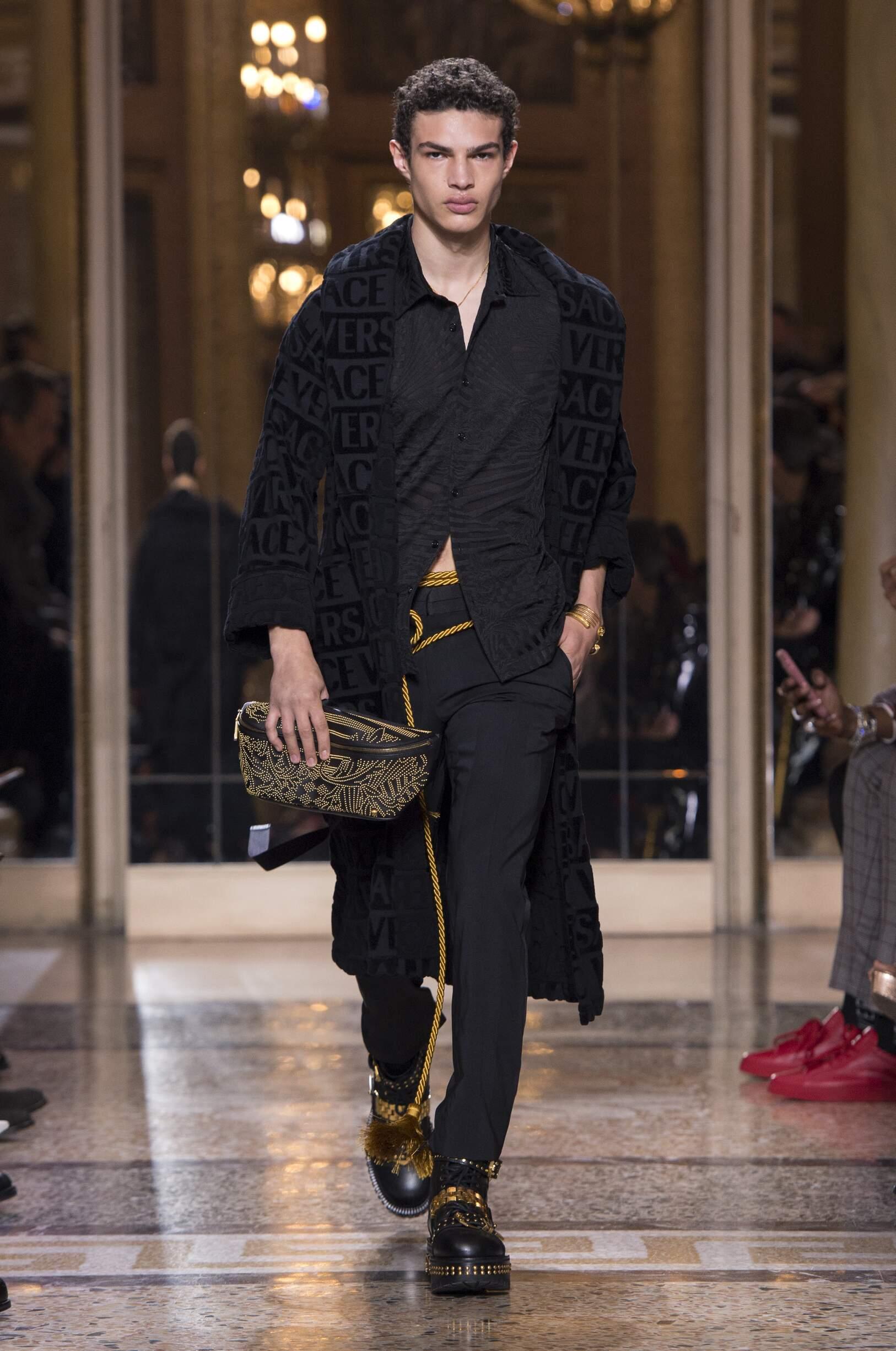 Fashion 2018 19 Man Style Versace
