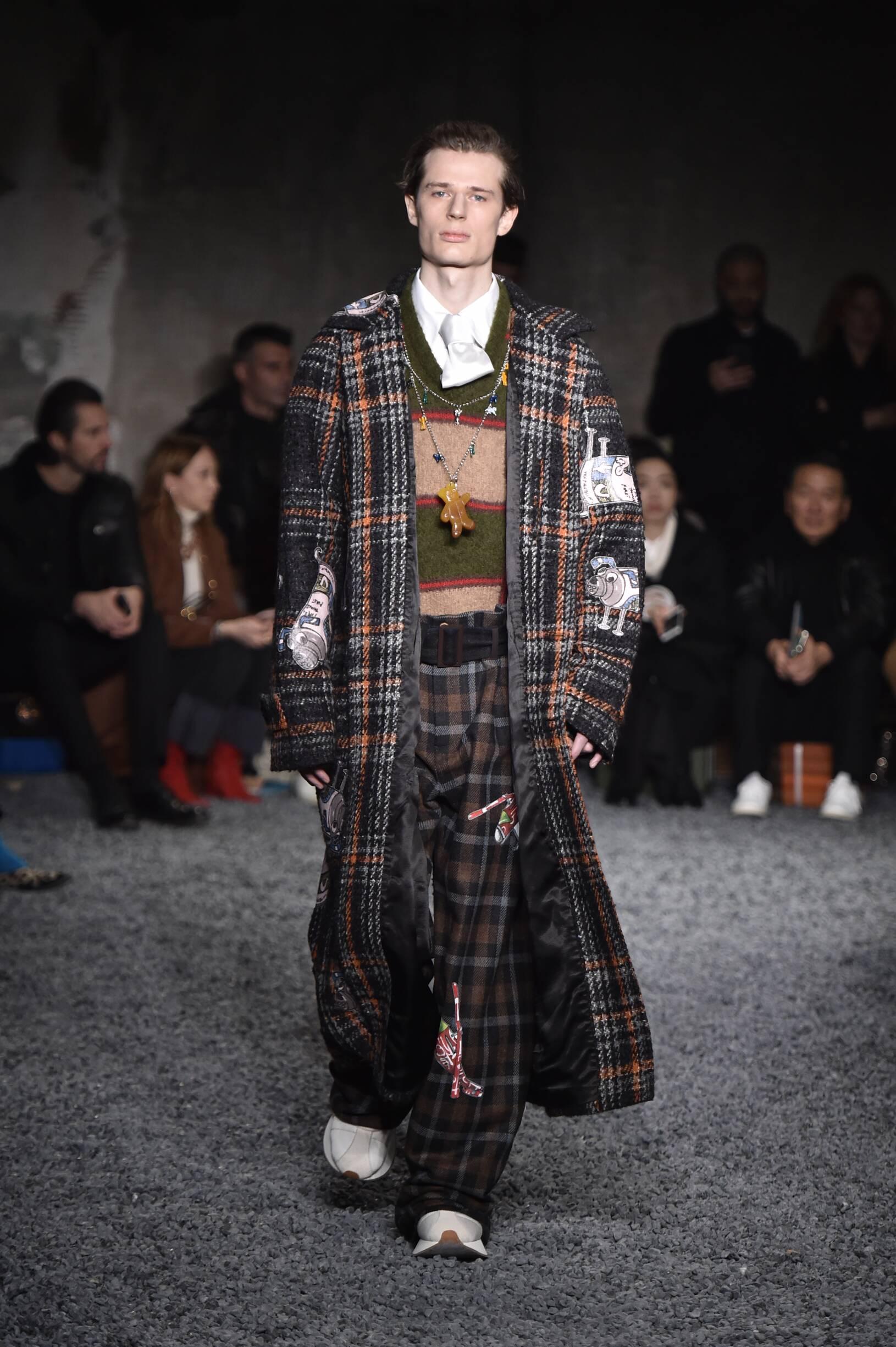 Fashion 2018-2019 Catwalk Marni Winter
