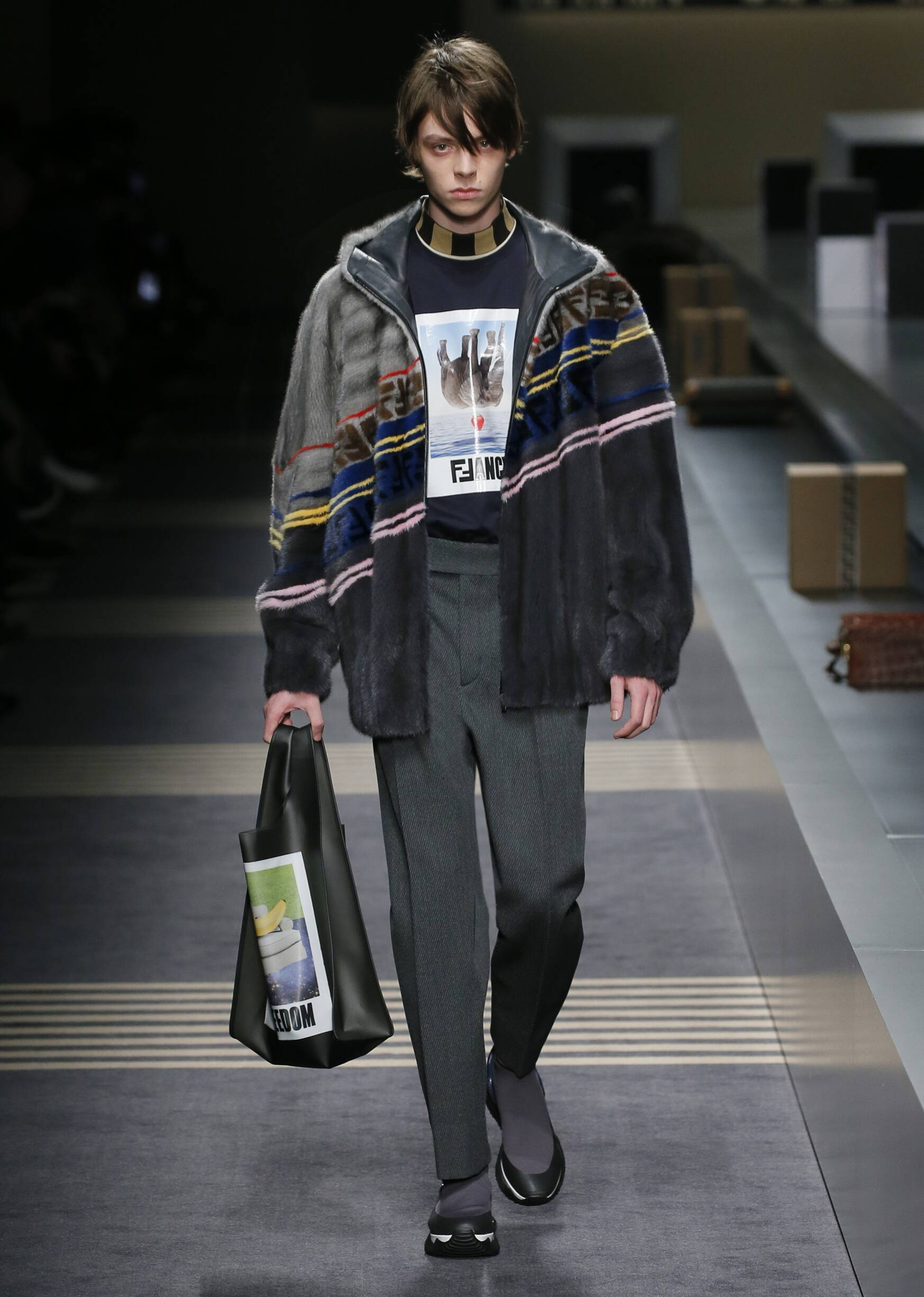 Fashion 2018-2019 Man Style Fendi