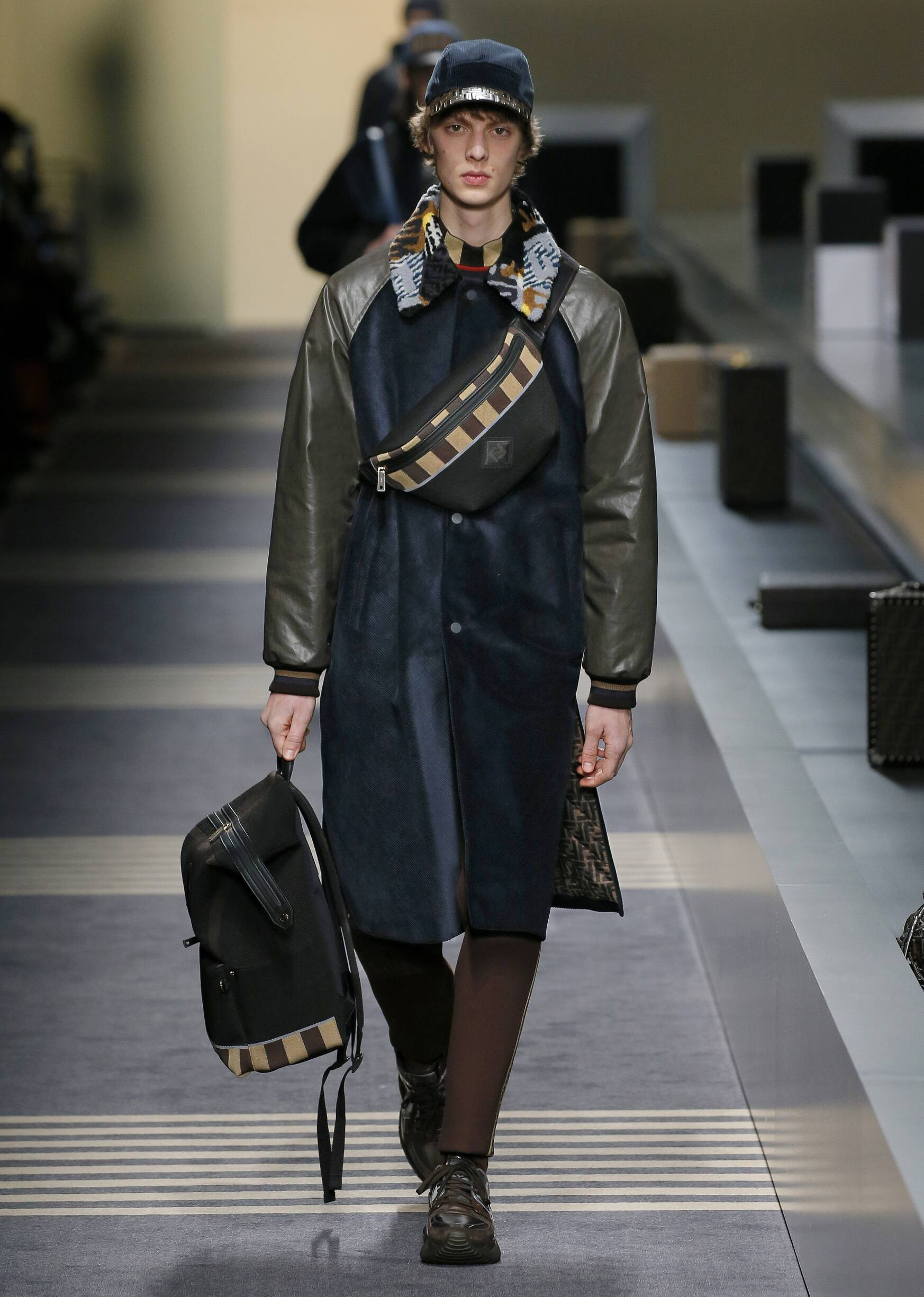 Fendi Fall Winter 2018 Mens Collection Milan Fashion Week