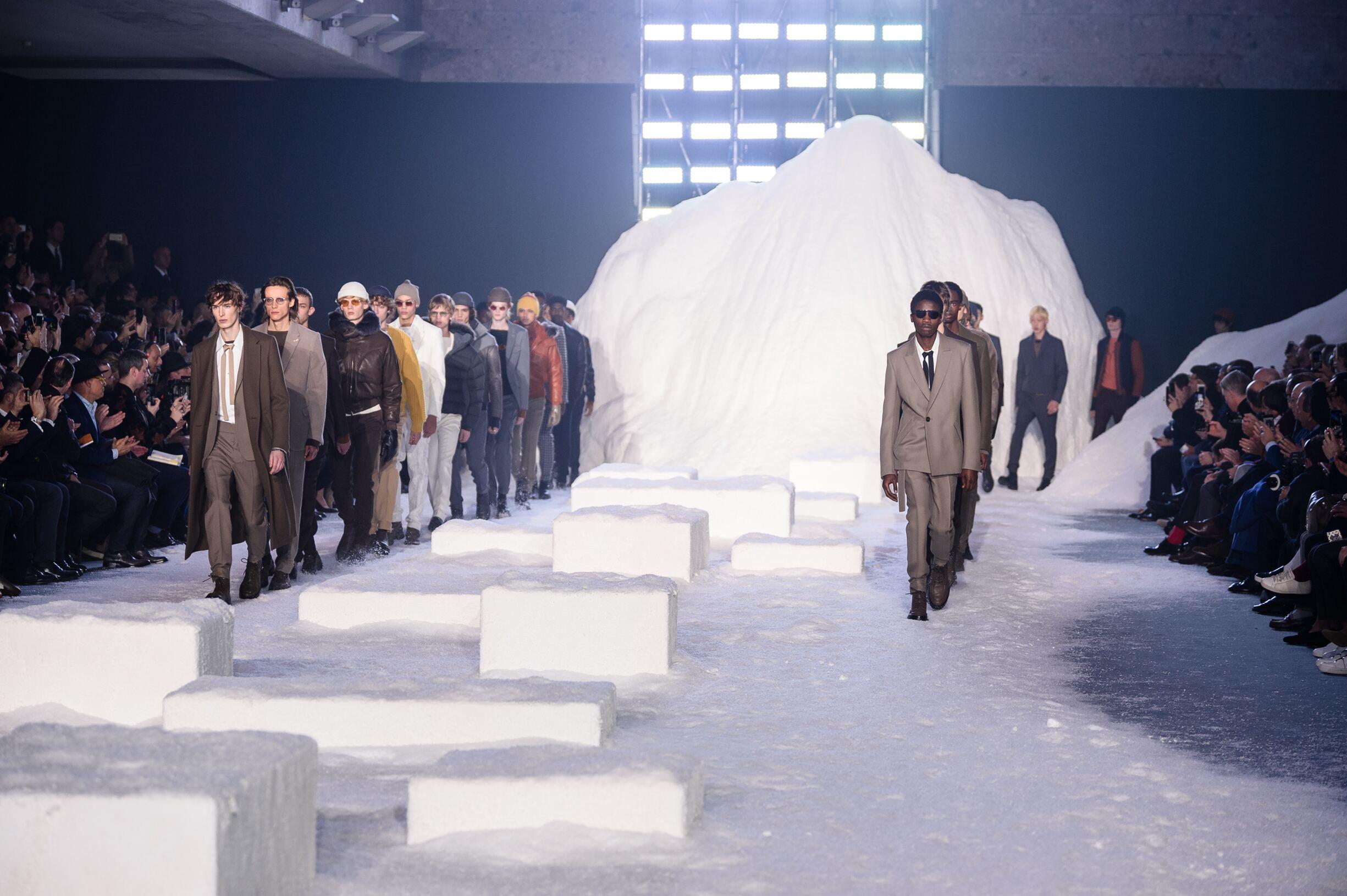 Finale Fashion Show Ermenegildo Zegna Couture