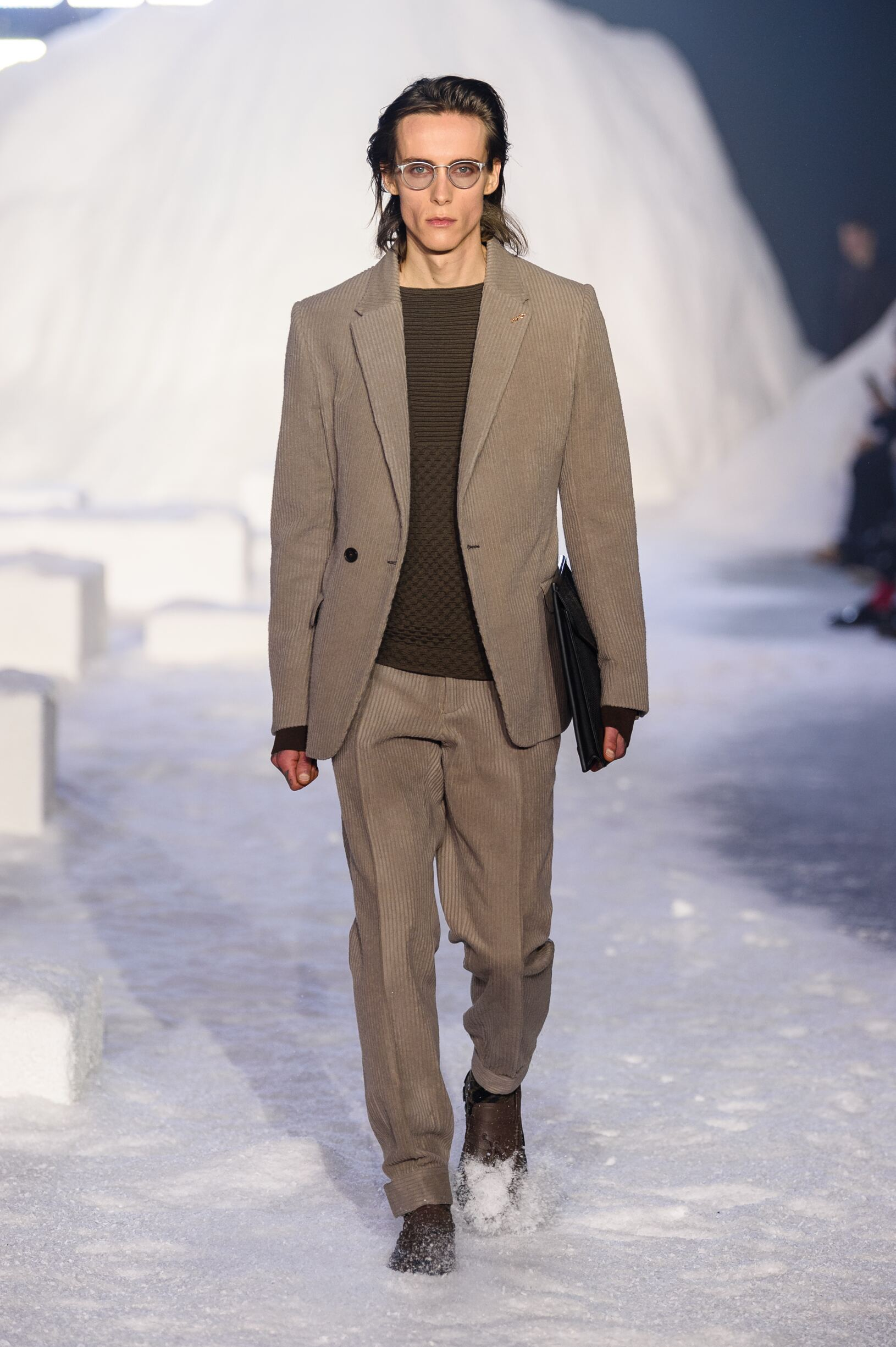 Man FW 2018-19 Fashion Show Ermenegildo Zegna Couture