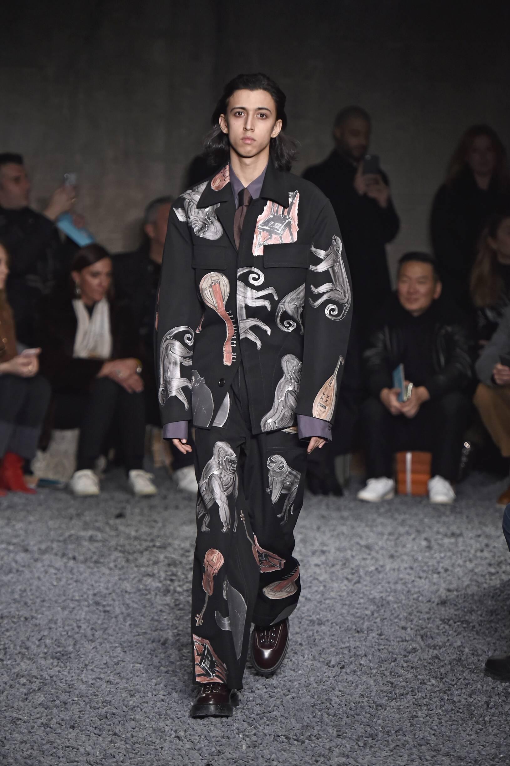 Man FW 2018-19 Fashion Show Marni