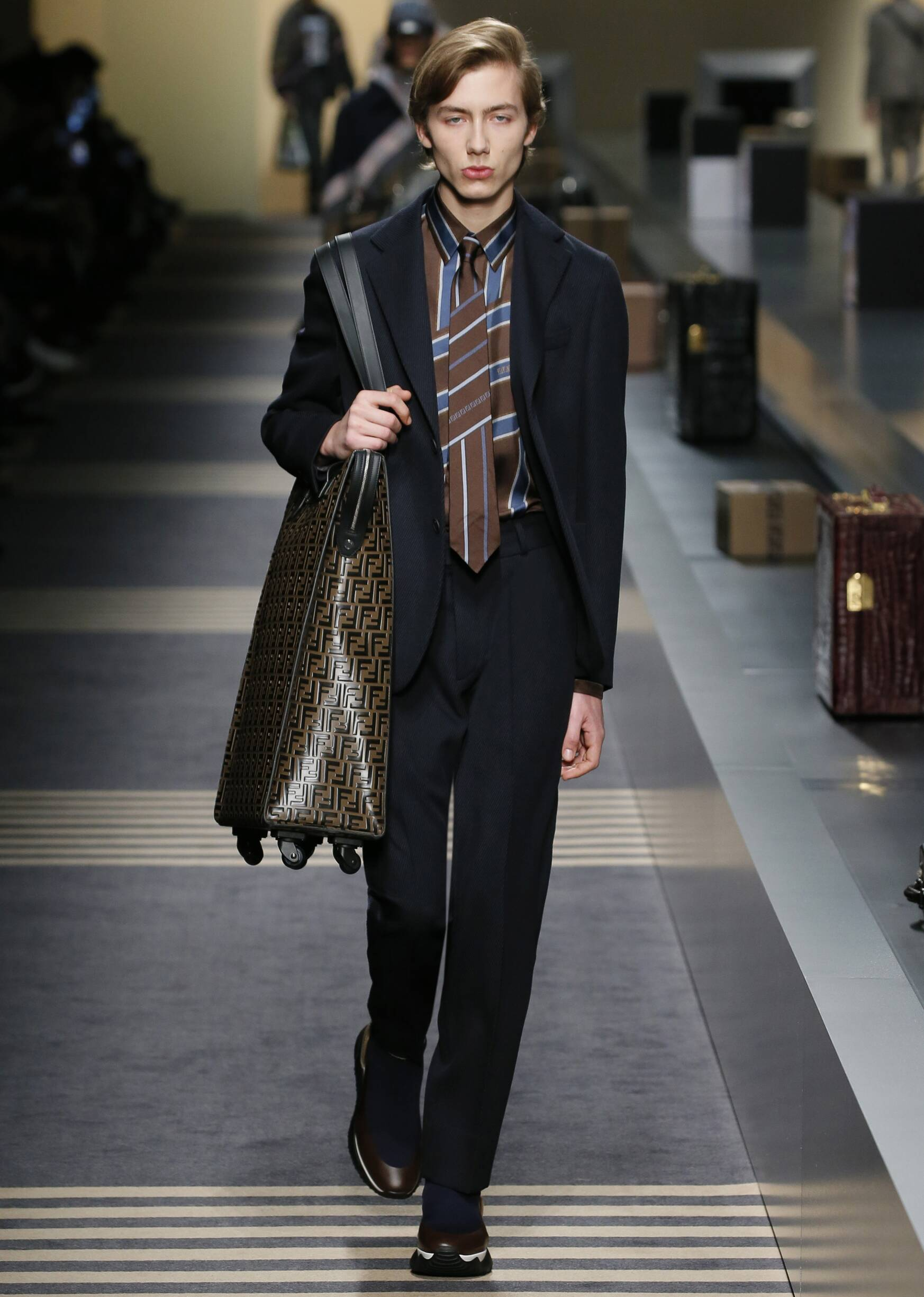 Man FW 2018-19 Fendi Fashion Show Milan