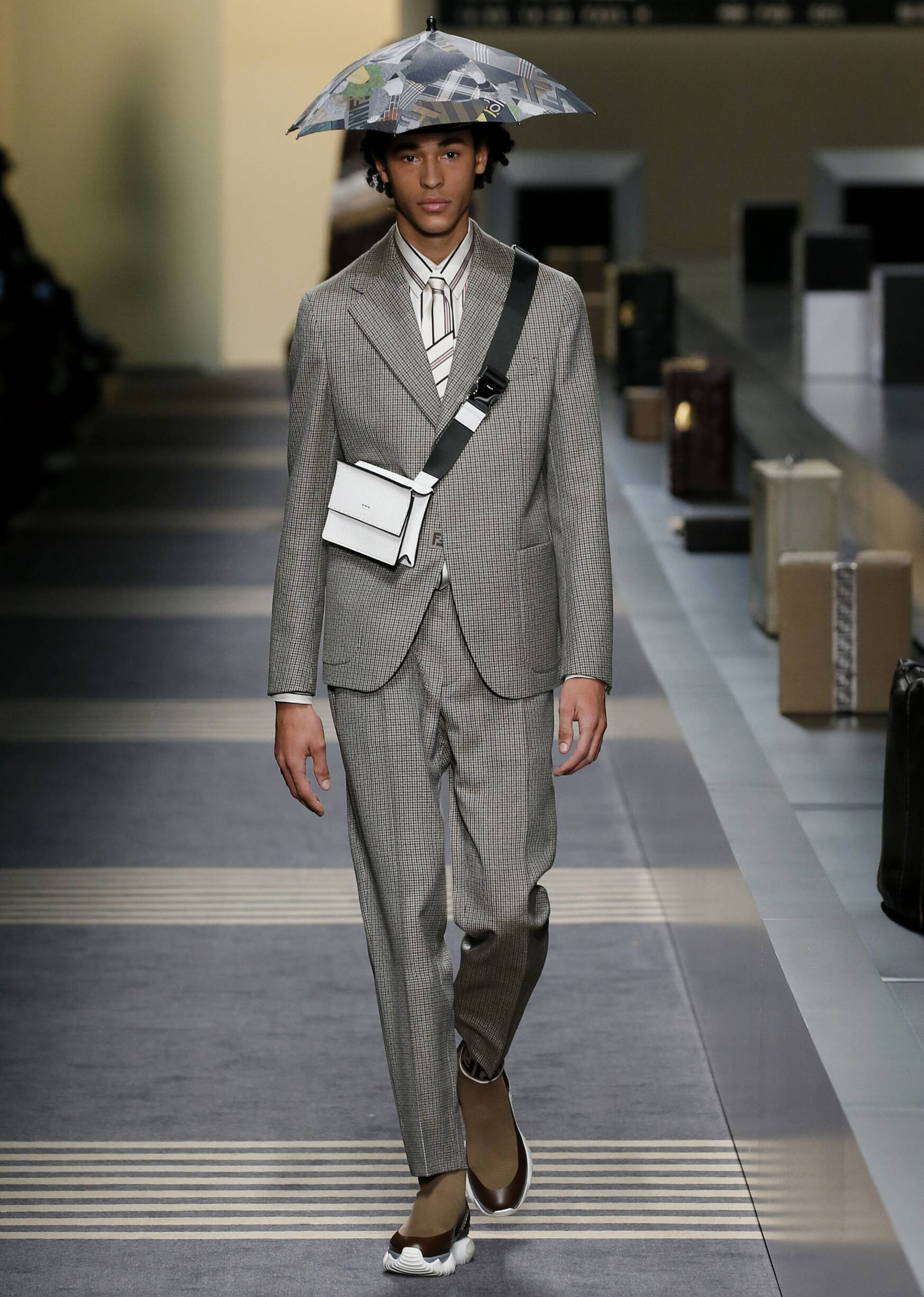Man Fashion Show Fendi