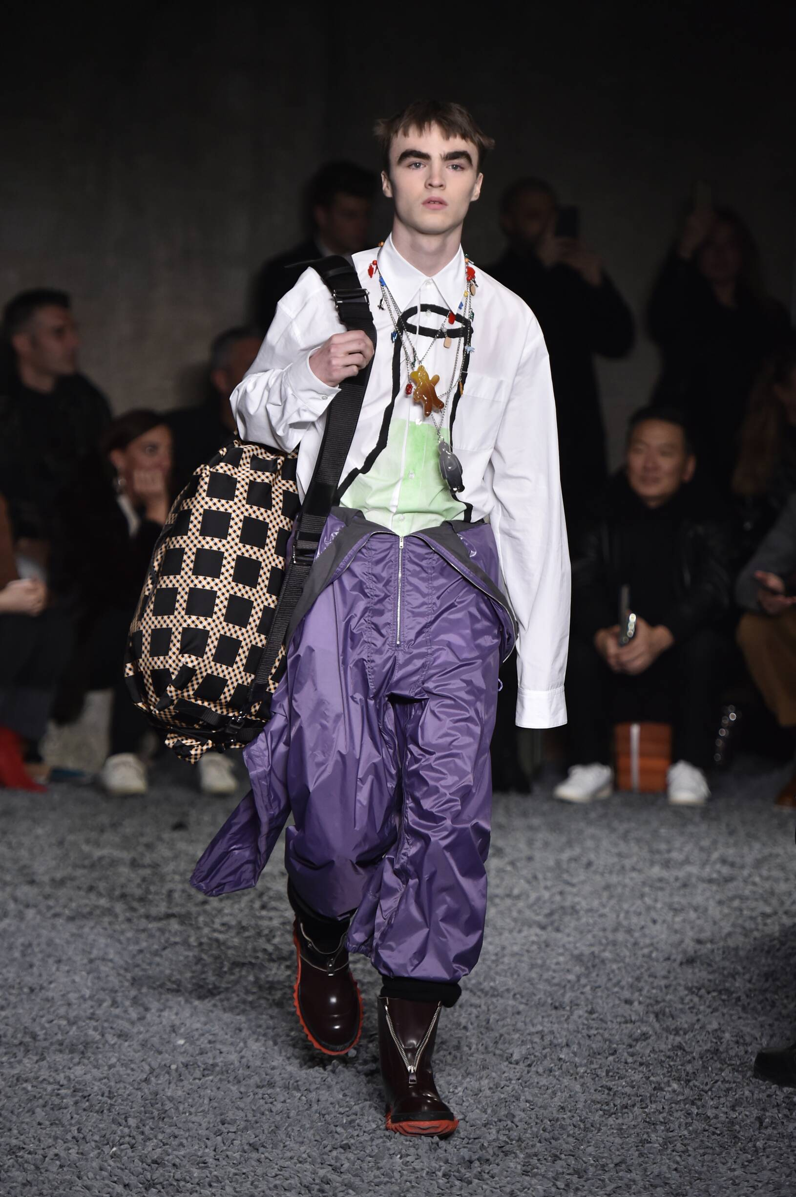 Marni Winter 2018 Man Catwalk