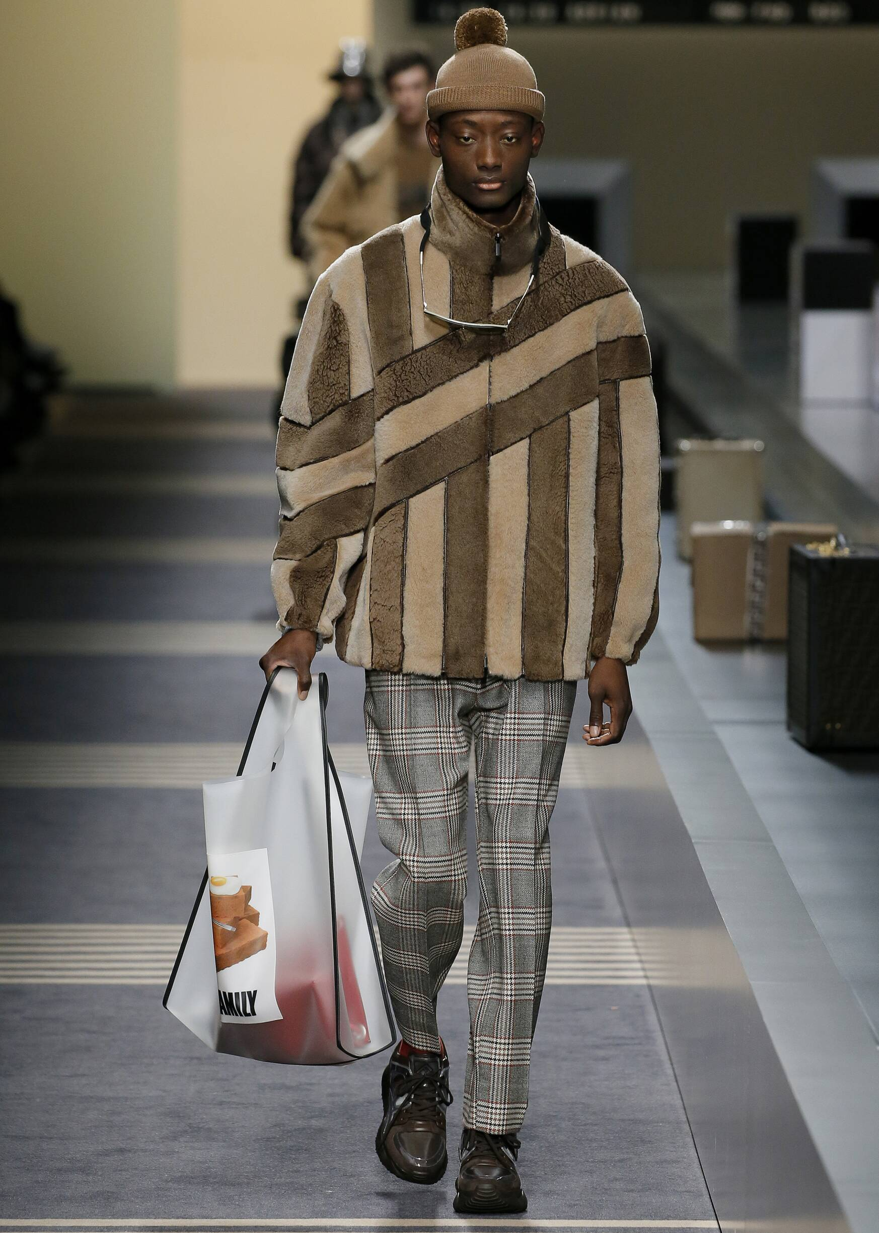 Menswear FW Fendi 2018