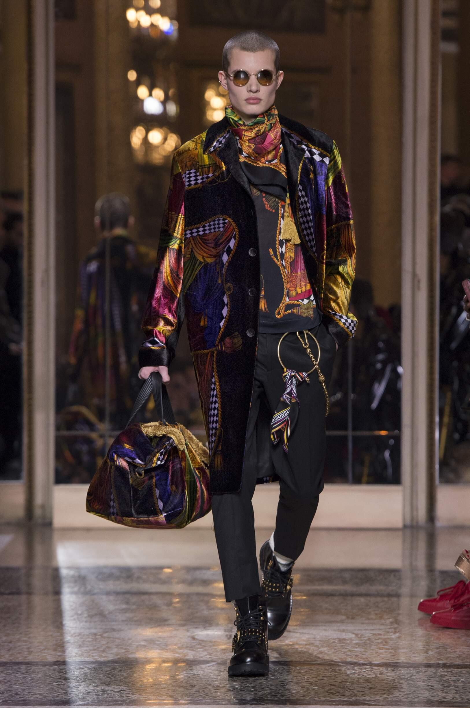 Menswear FW Versace 2018