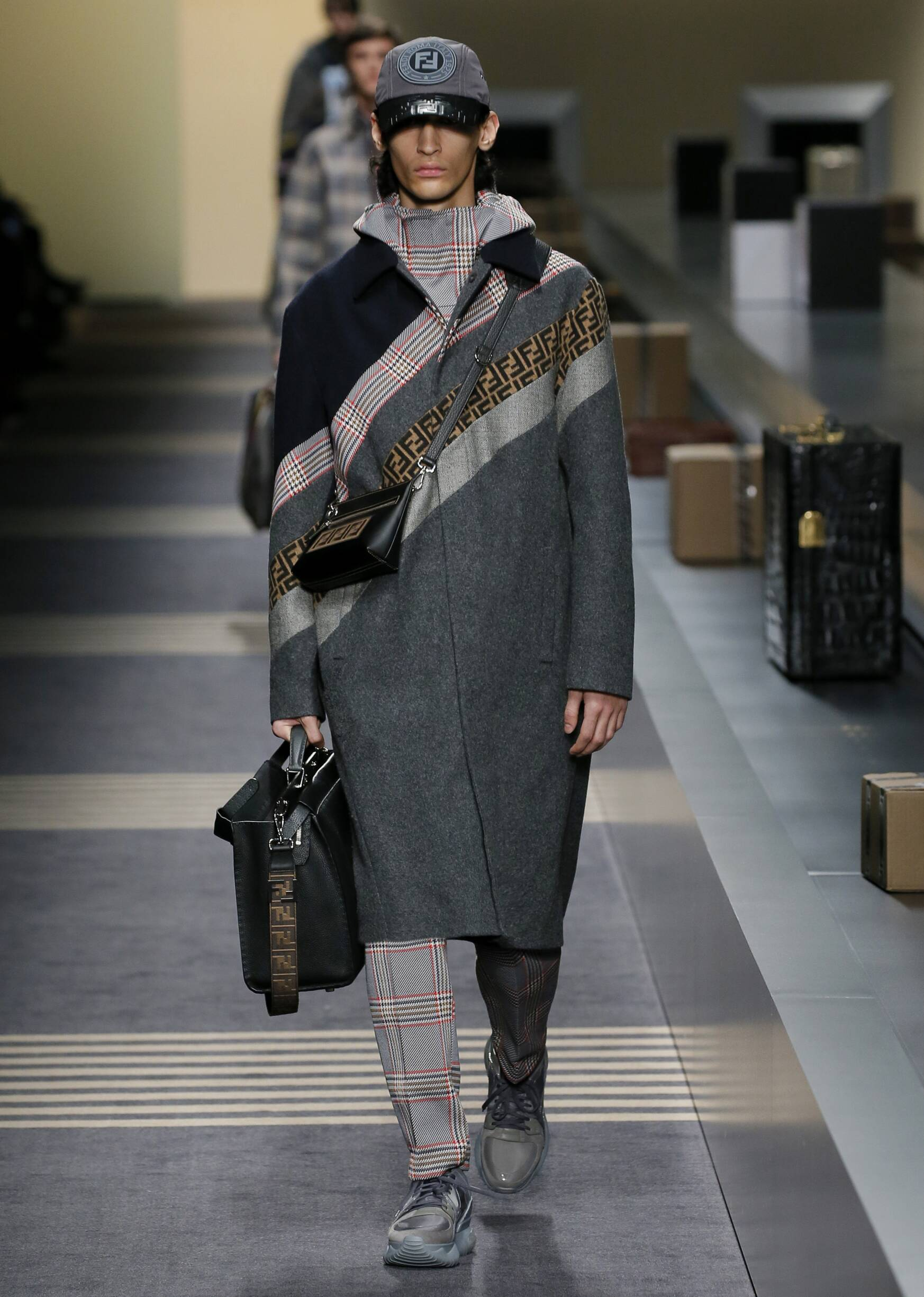 Menswear Winter Fendi 2018