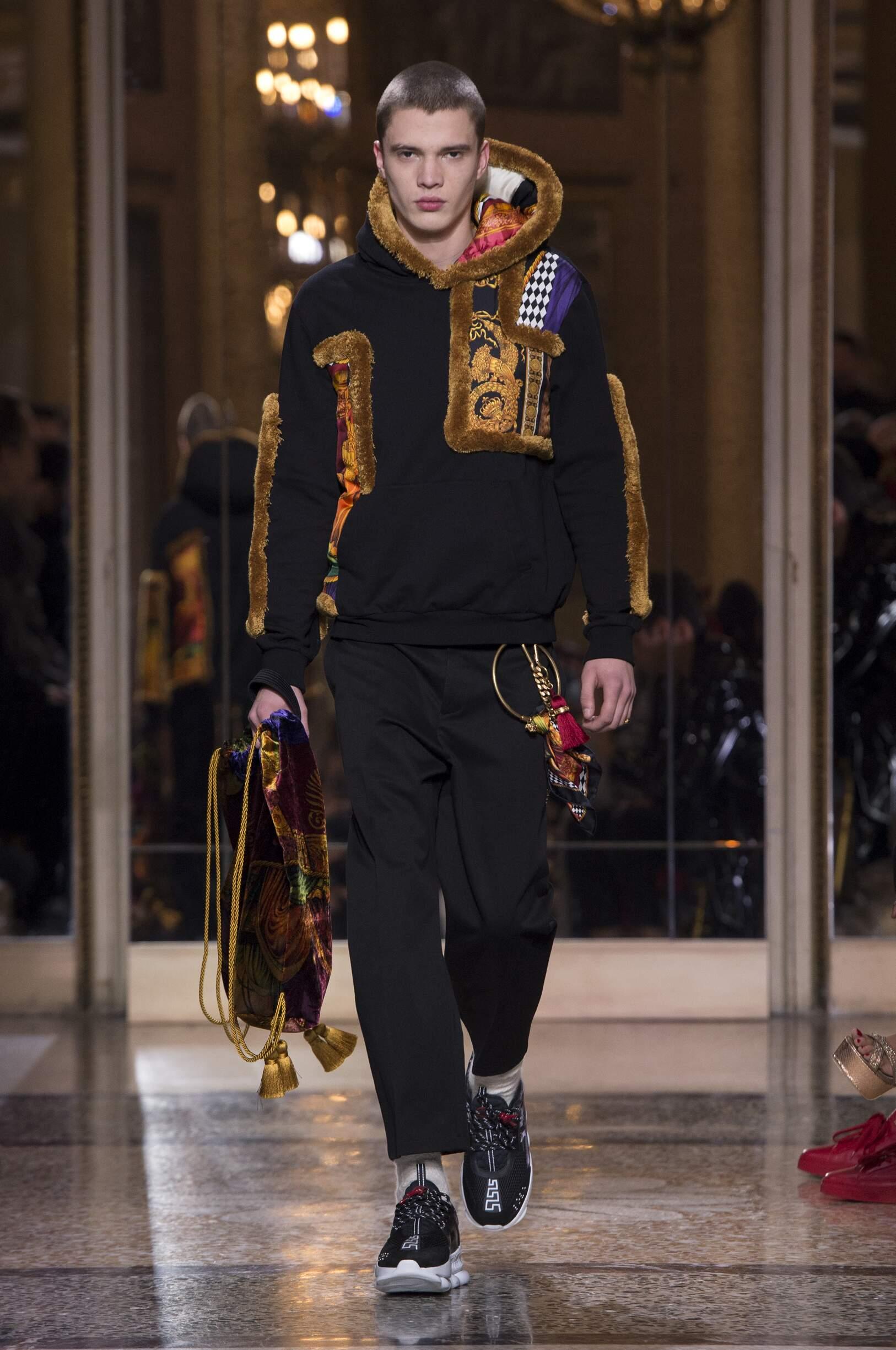 Menswear Winter Versace 2018