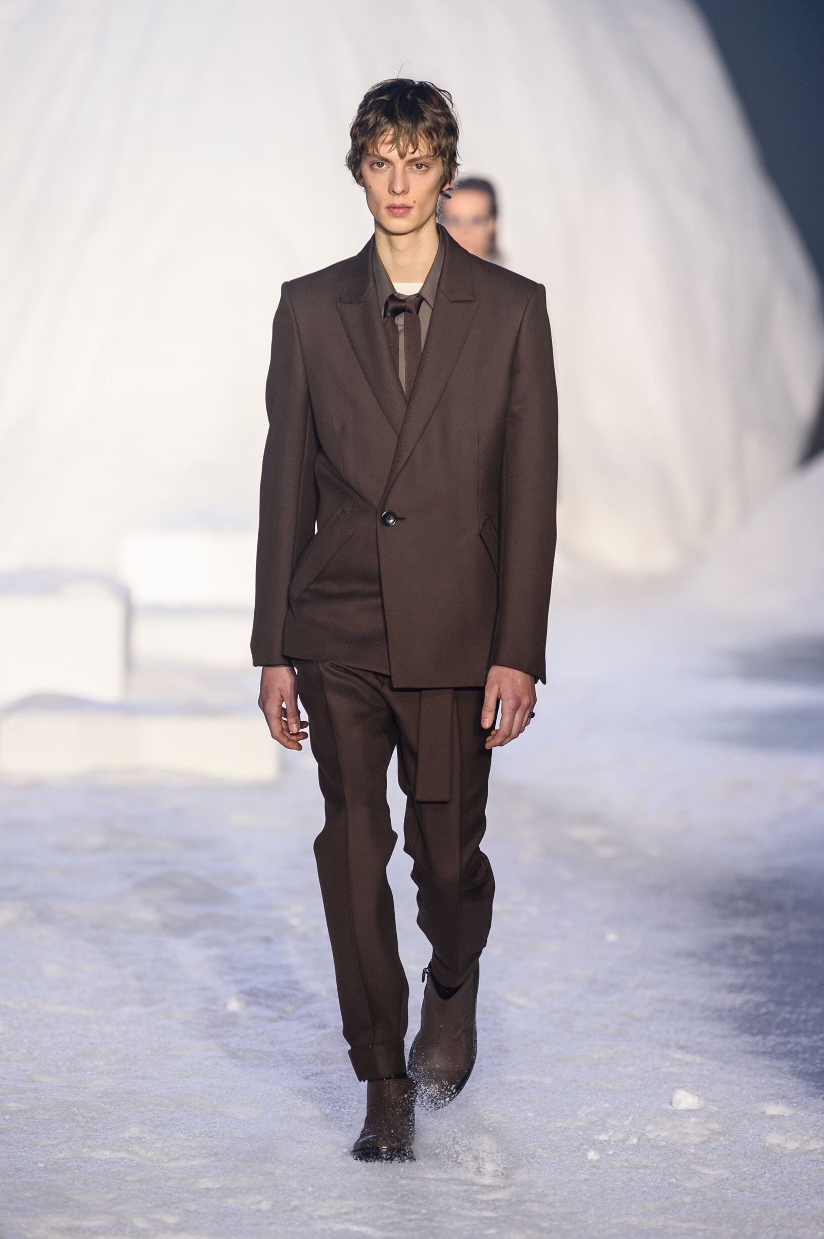 Model Fashion Show Ermenegildo Zegna Couture