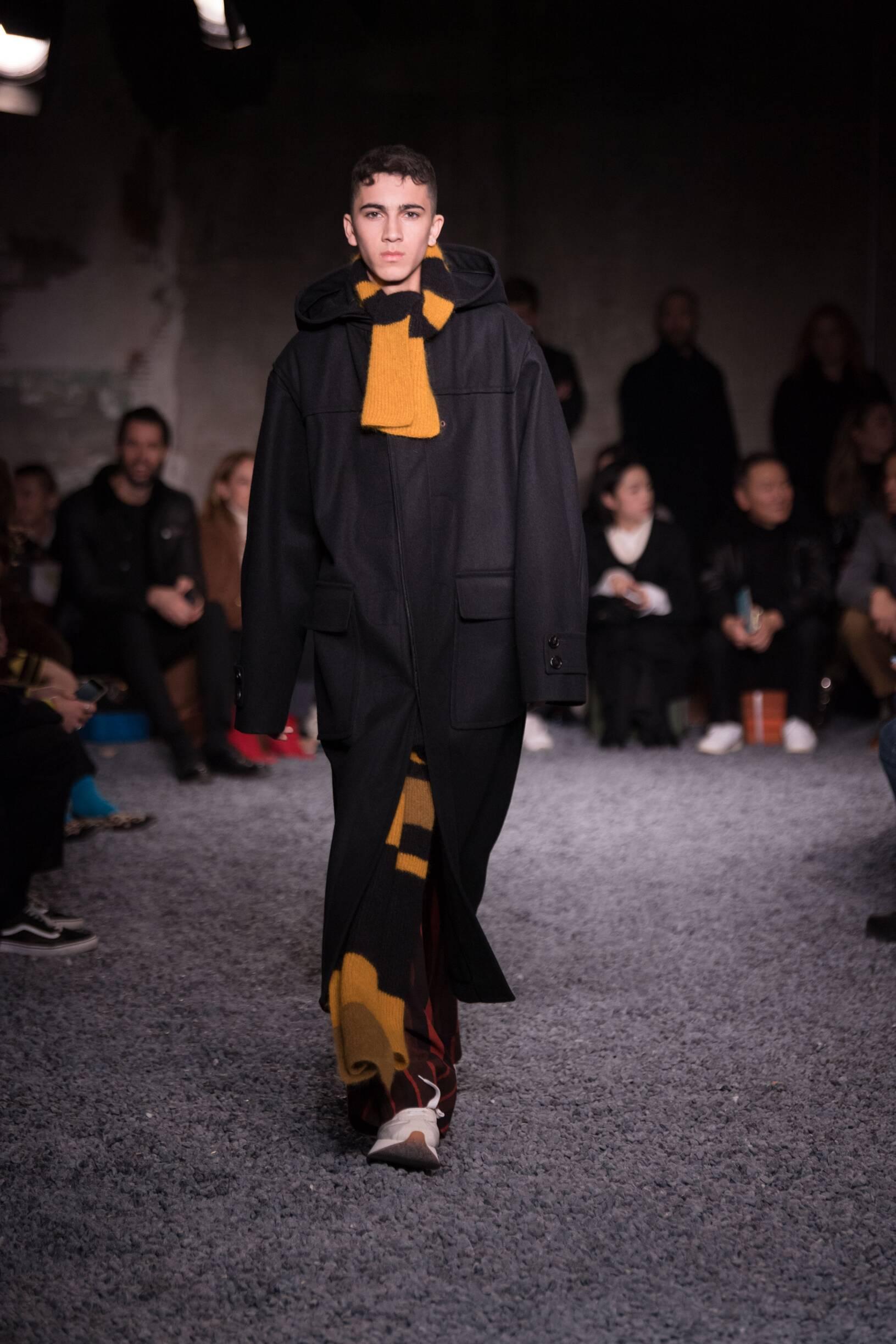 Runway Marni Fall Winter 2018 Men's Collection Milan Fashion Week