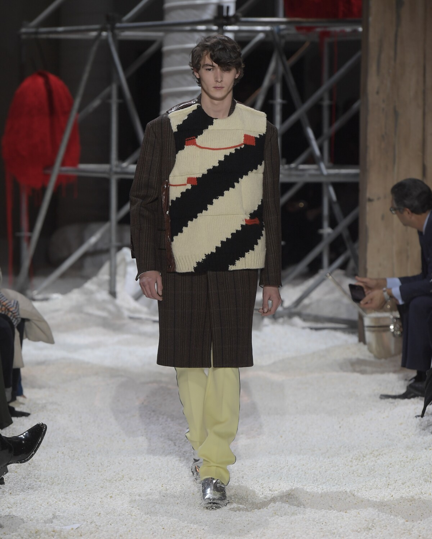 2018 Calvin Klein 205W39NYC Man Catwalk