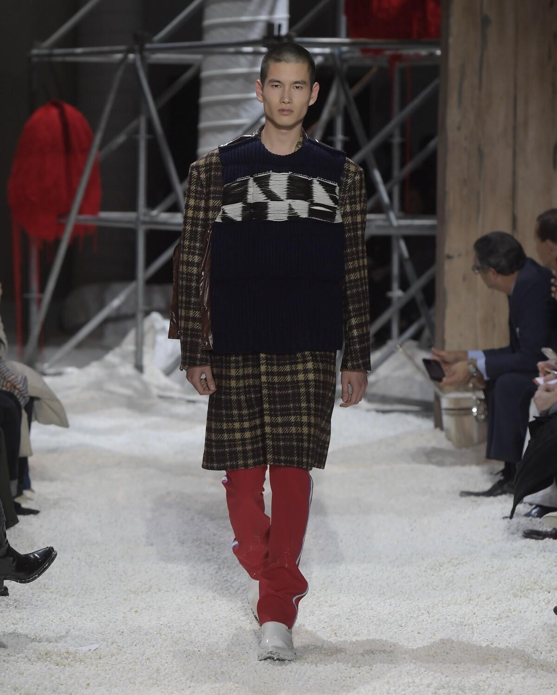 2018 Calvin Klein 205W39NYC Man Winter Catwalk