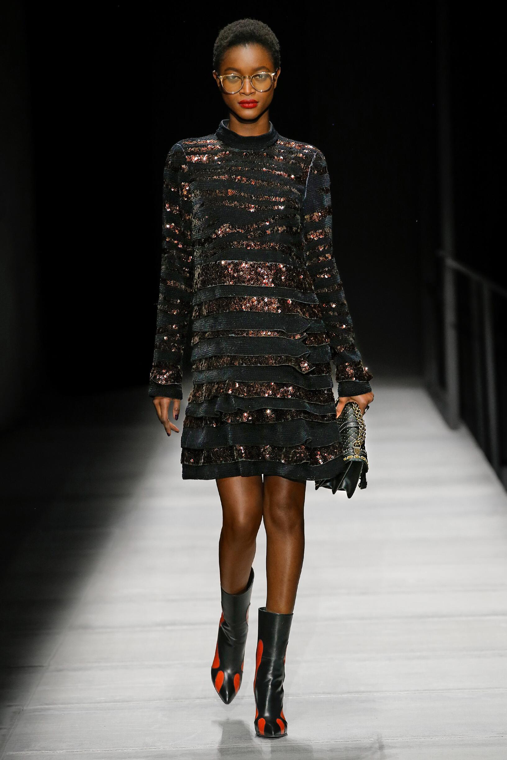 2018 Catwalk Bottega Veneta Woman Fashion Show Winter