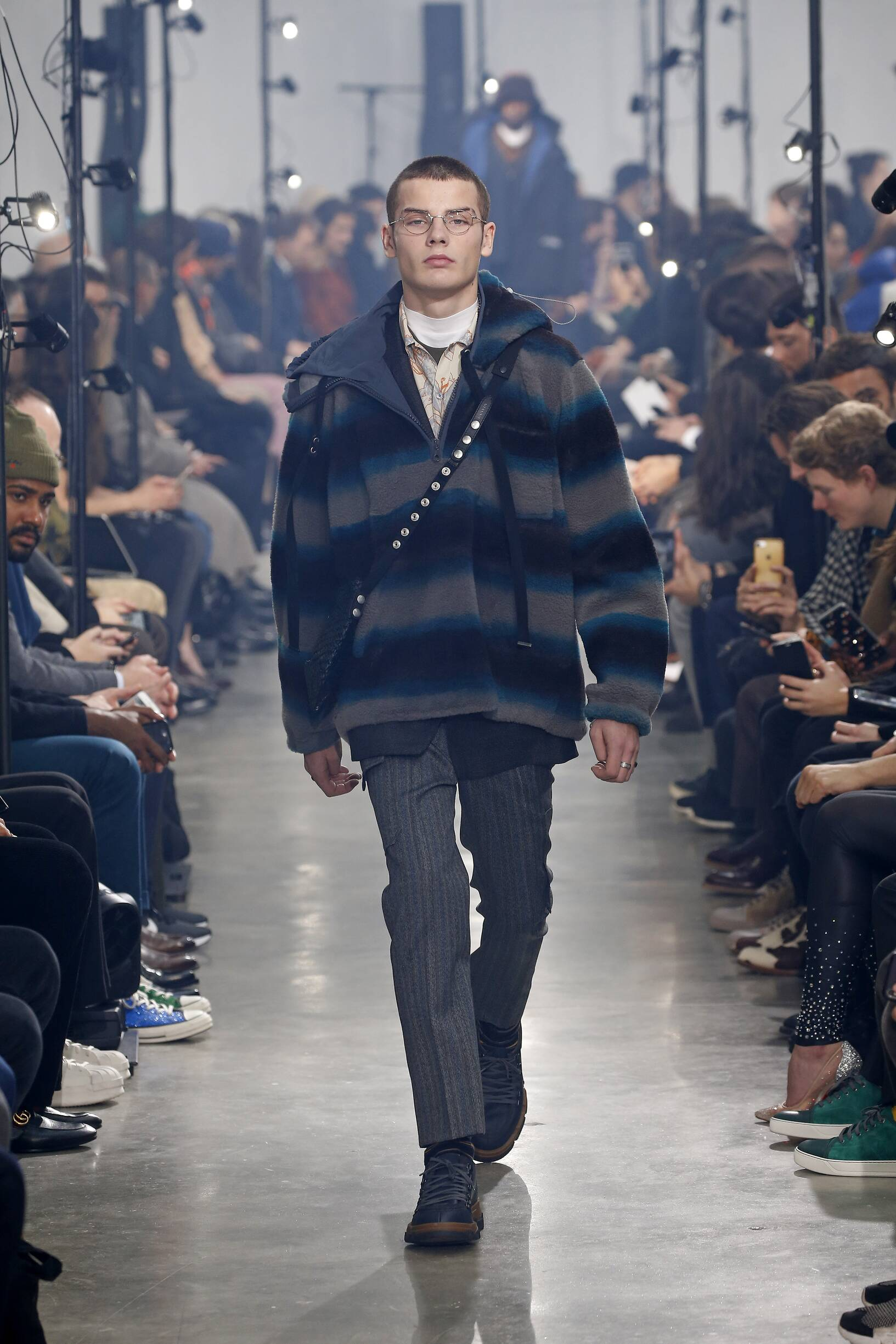 2018 Catwalk Lanvin Man Fashion Show Winter