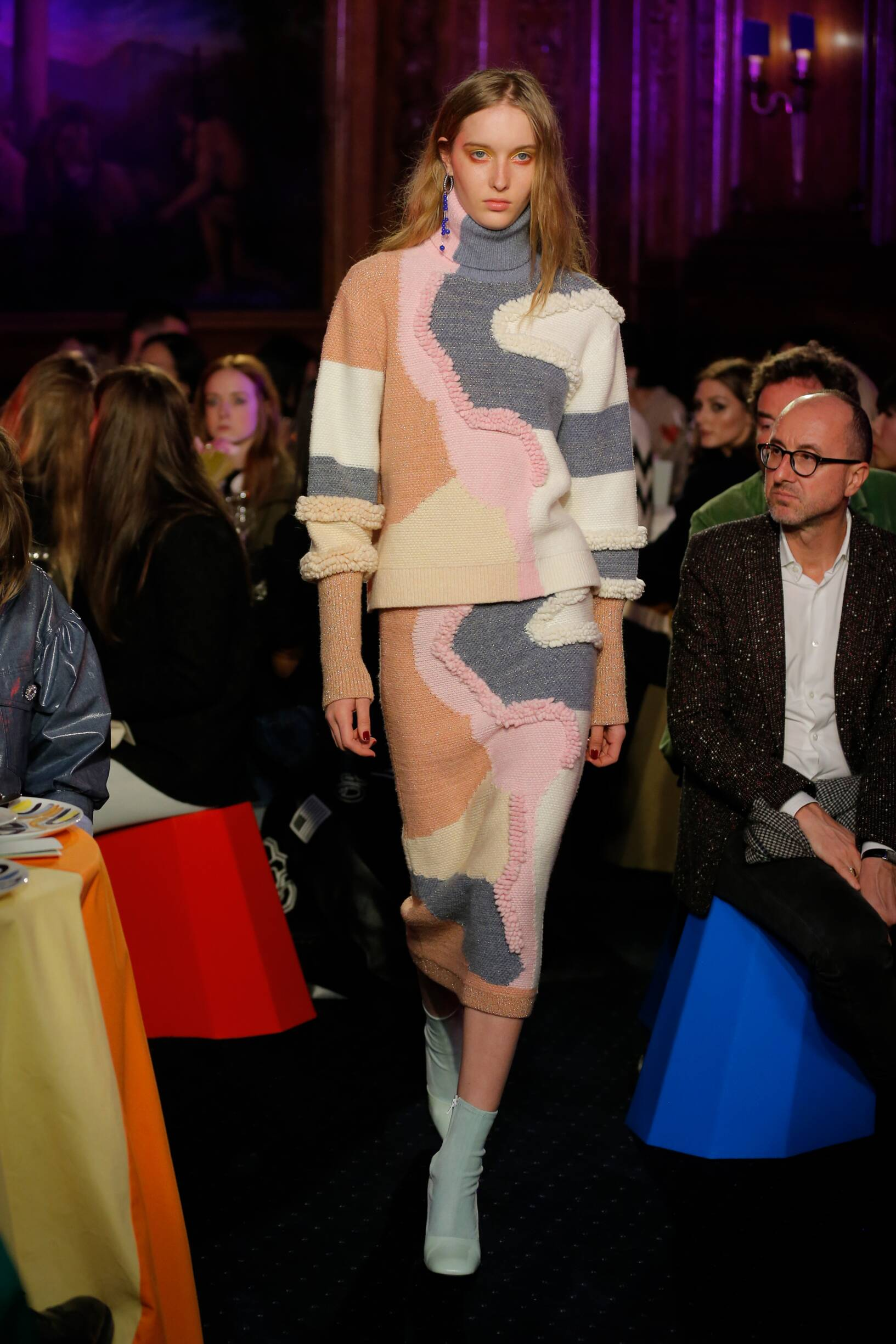 2018 Catwalk Peter Pilotto Woman Fashion Show Winter