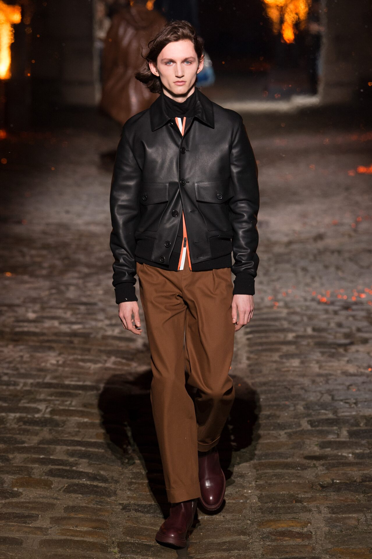 2018 Hermès Man Catwalk