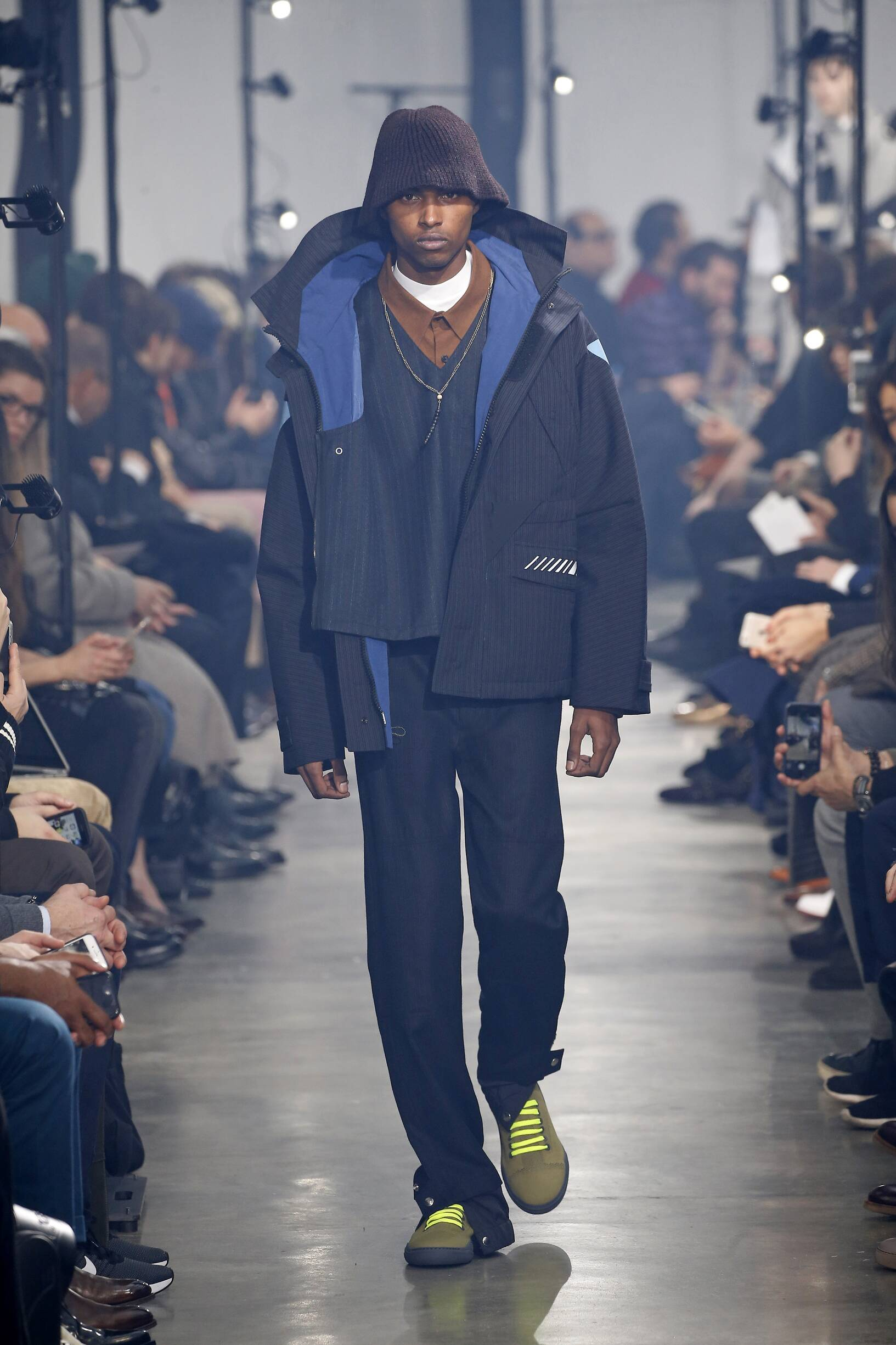 2018 Lanvin Man Winter Catwalk