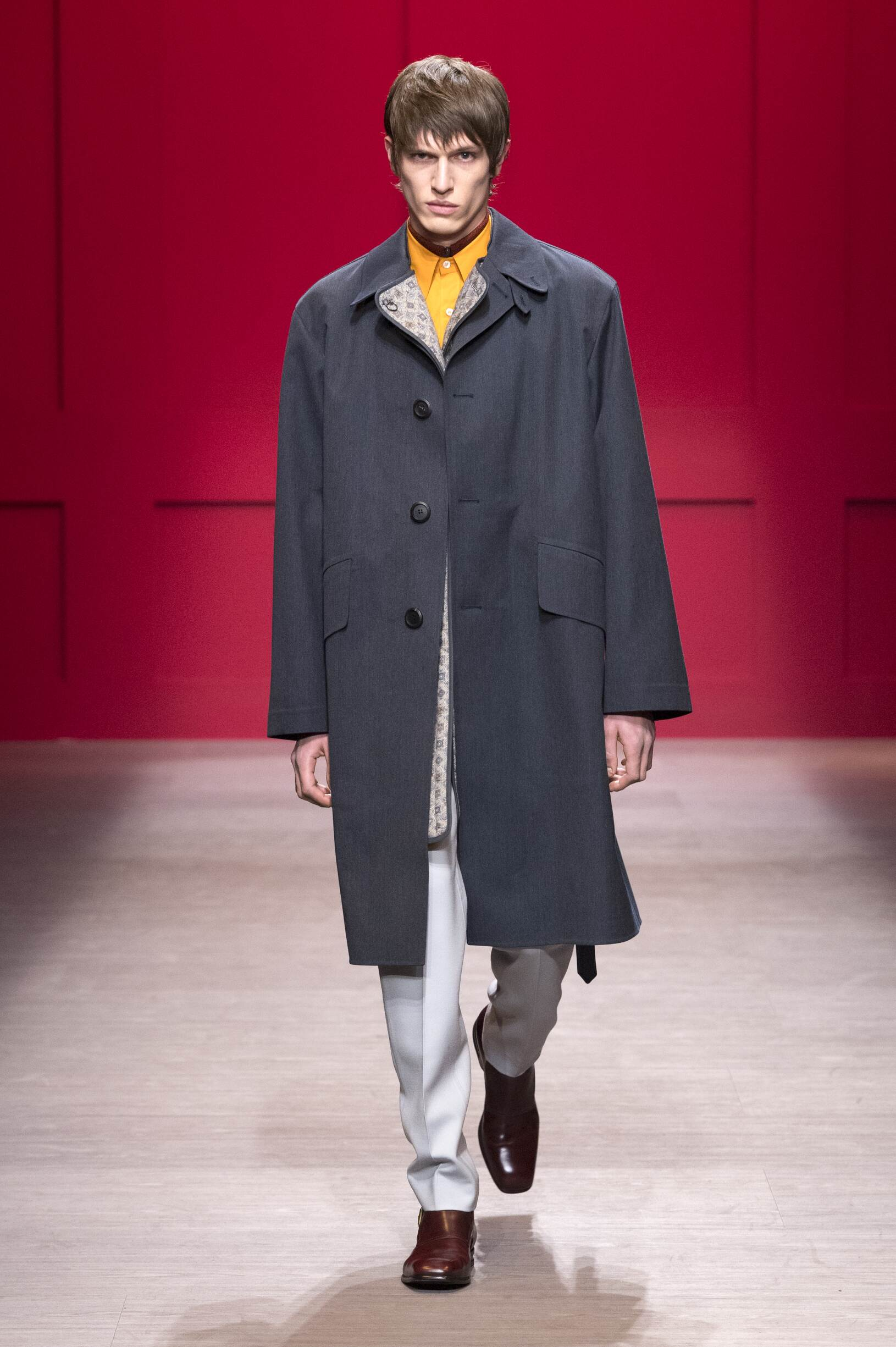 2018 Man Catwalk Salvatore Ferragamo