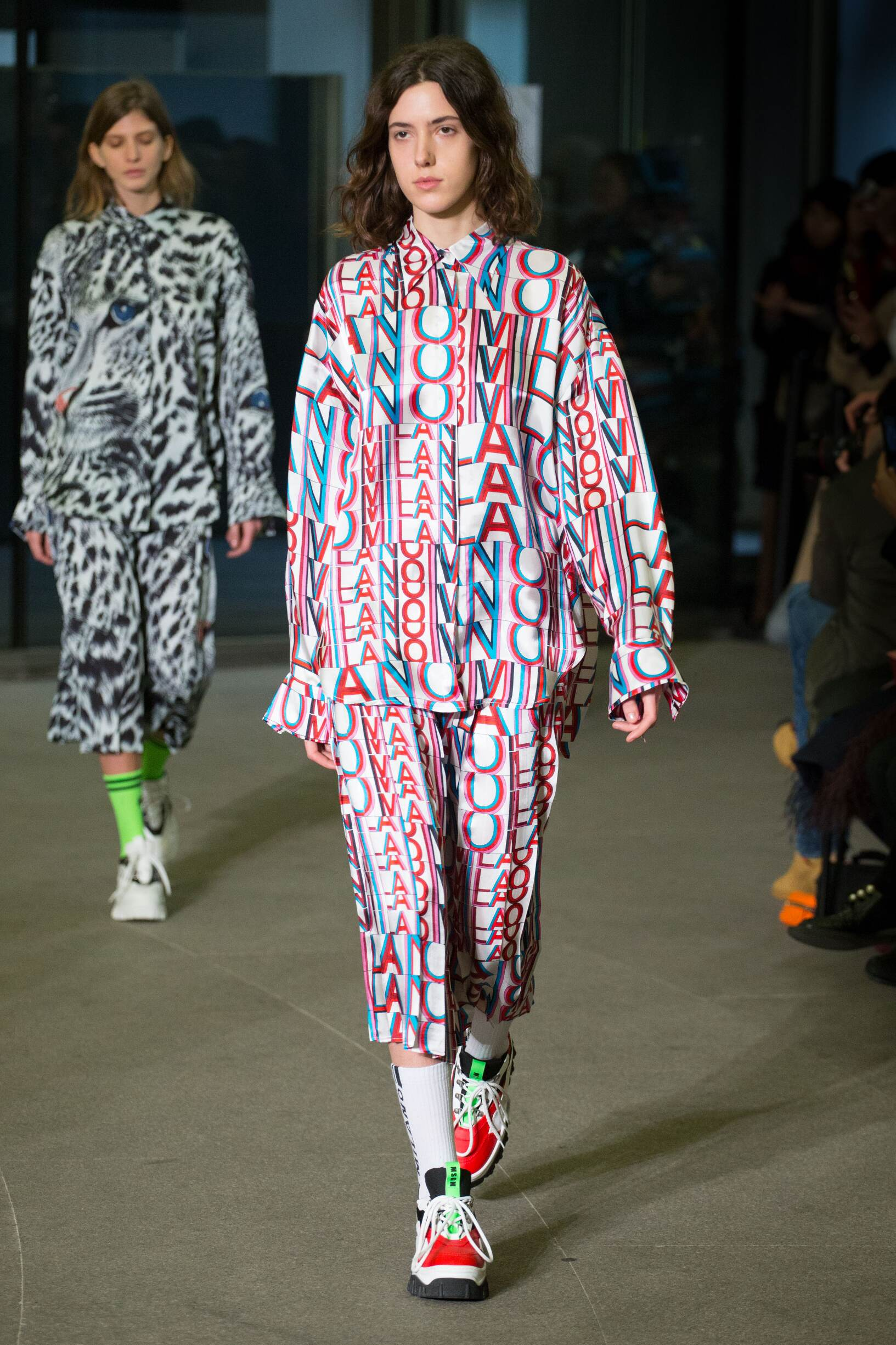 2018 Msgm Woman Catwalk