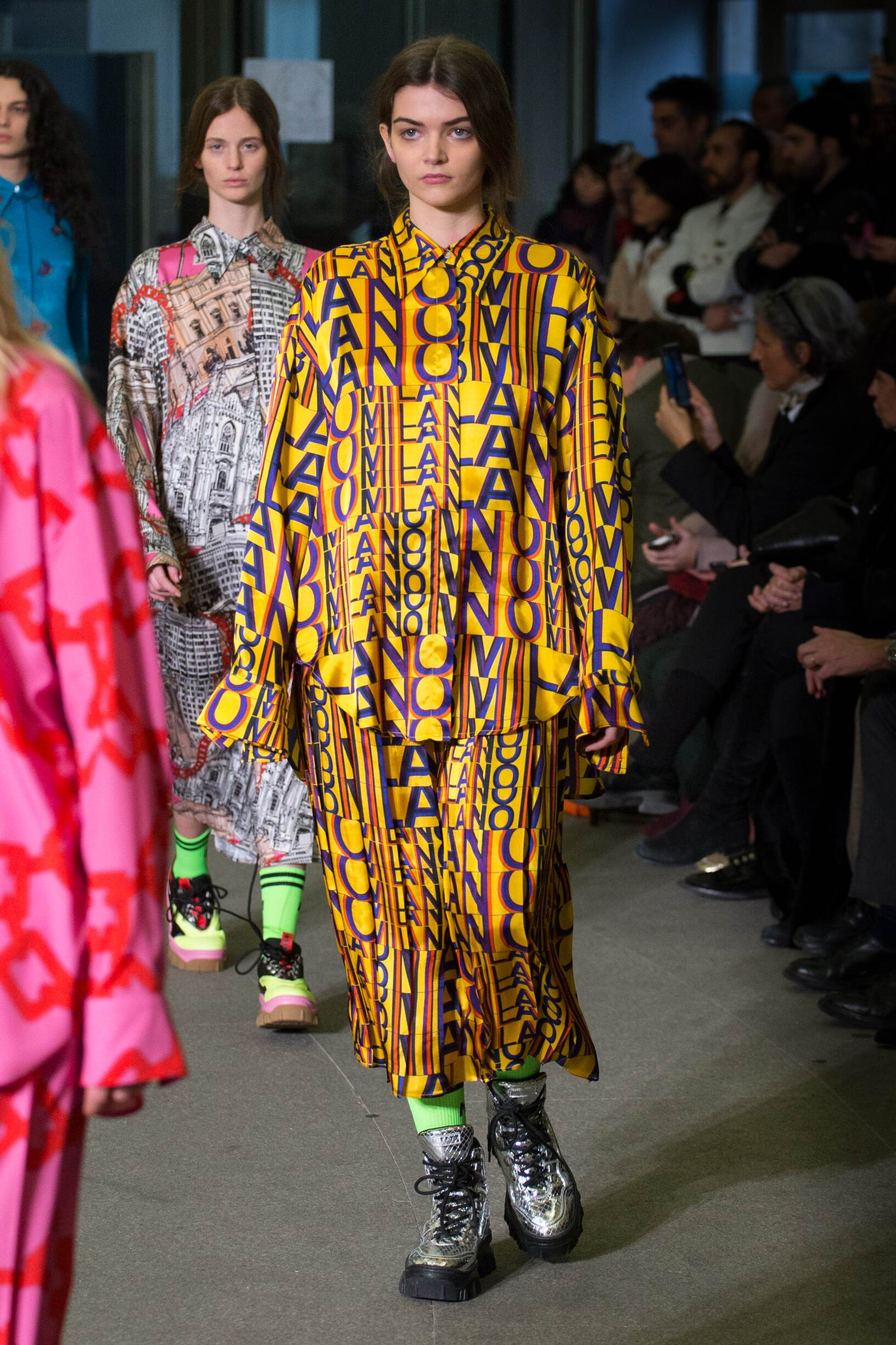 2018 Msgm Woman Colors Trends