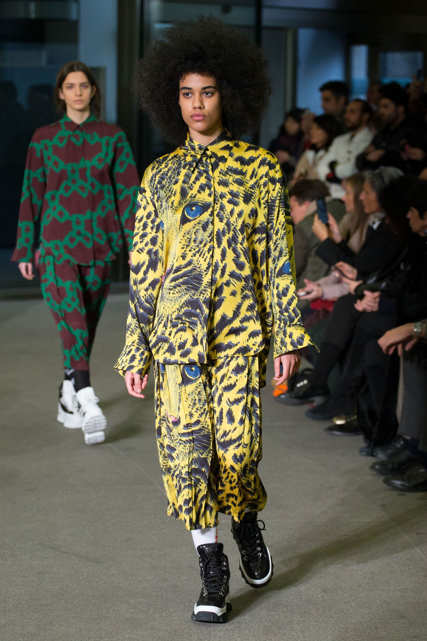 2018 Msgm Woman Winter Catwalk