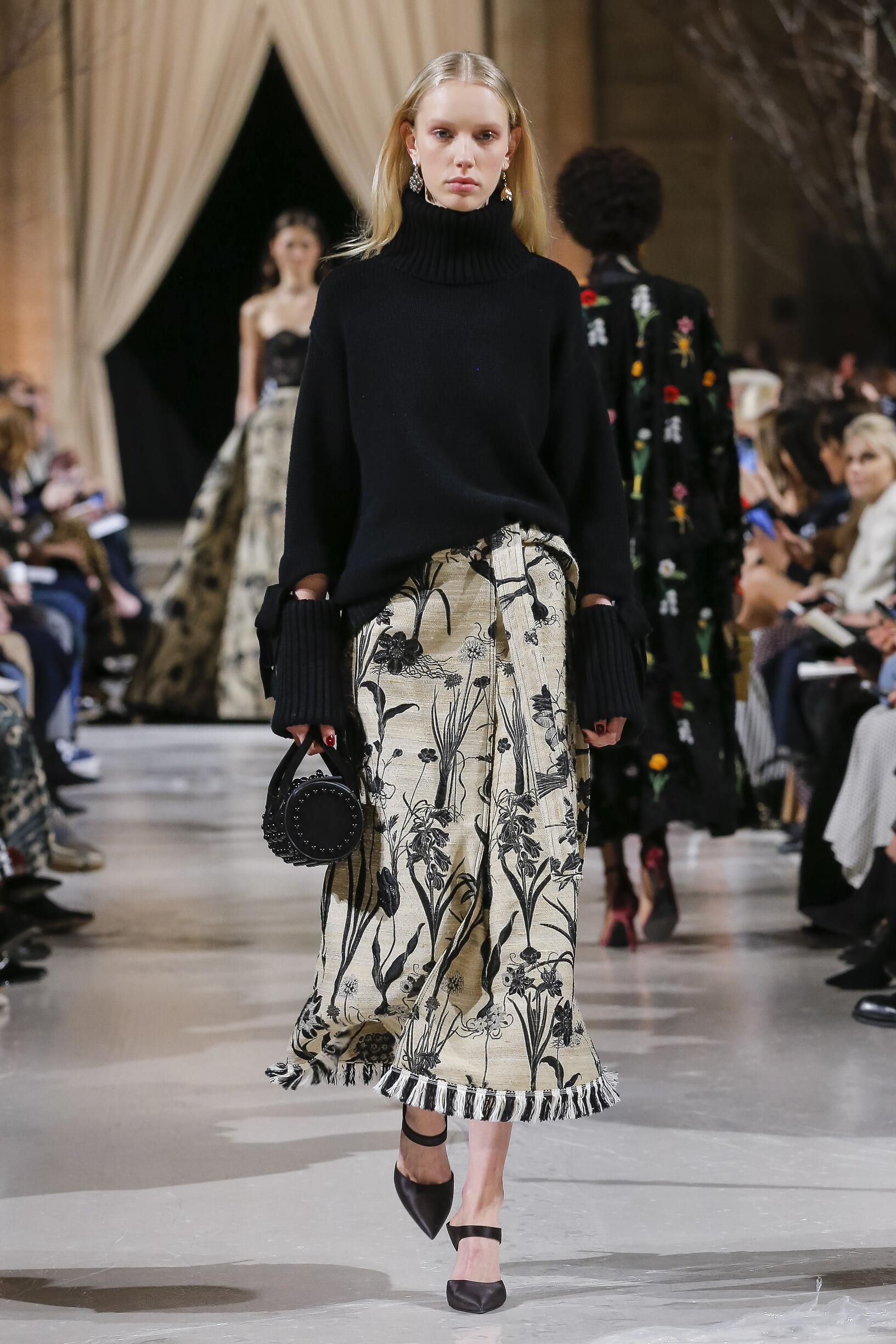 2018 Oscar de la Renta Fall Winter Woman