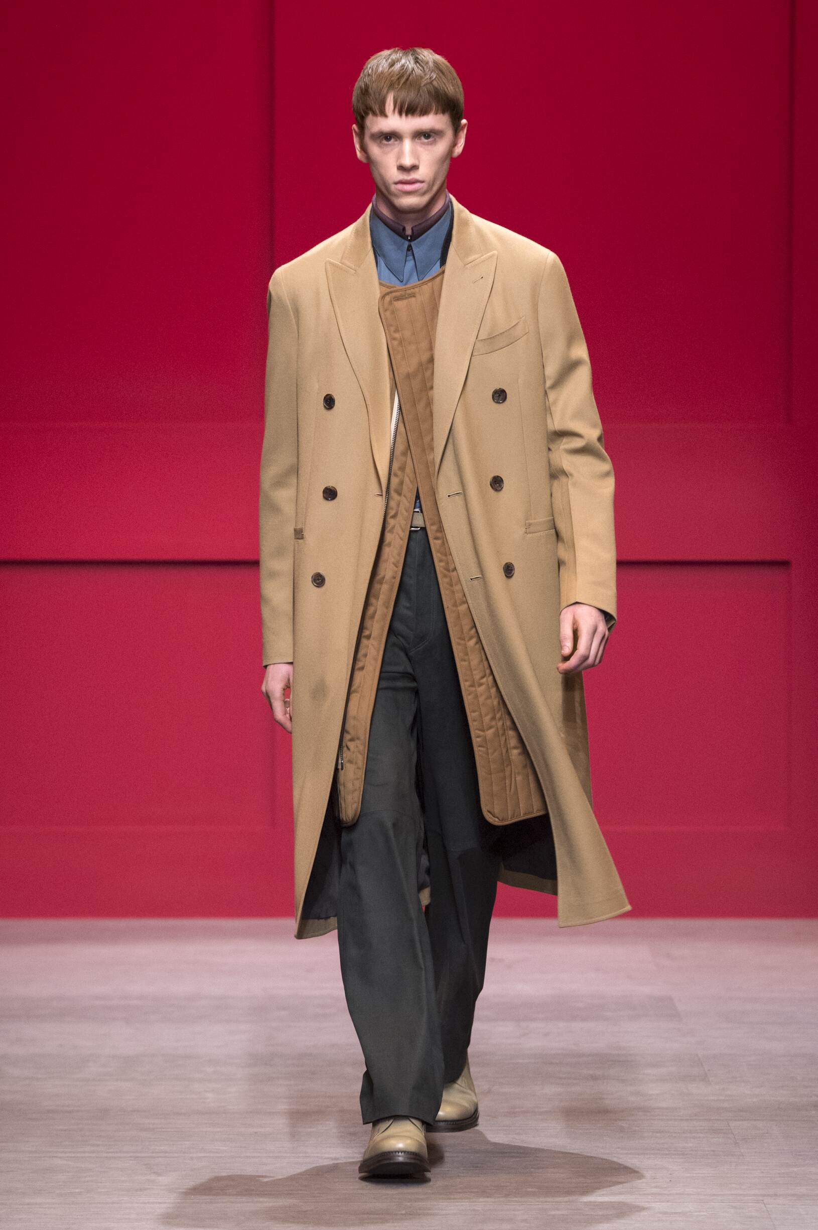 2018 Salvatore Ferragamo Fall Winter Man