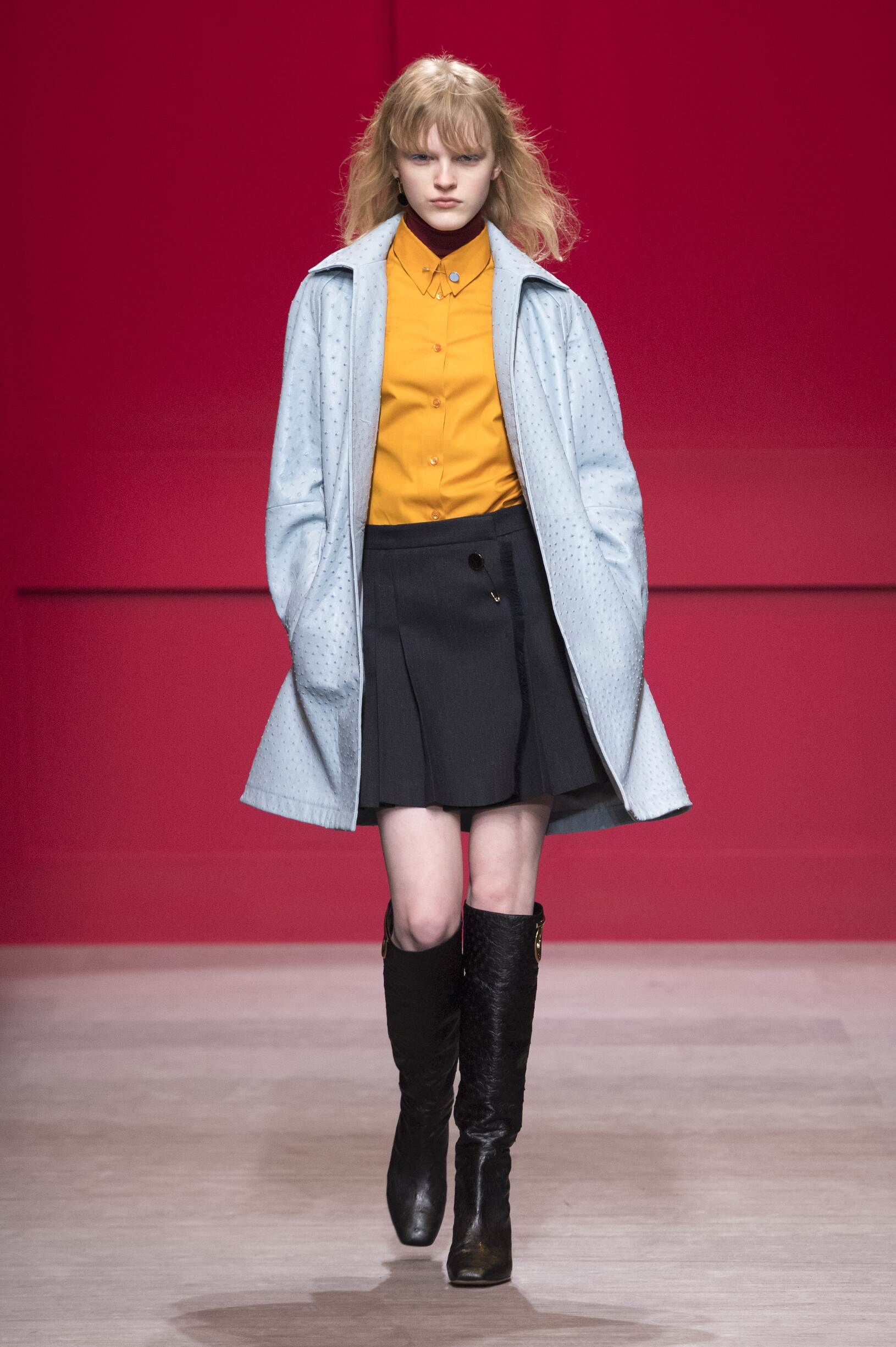 2018 Salvatore Ferragamo Woman Winter Runway