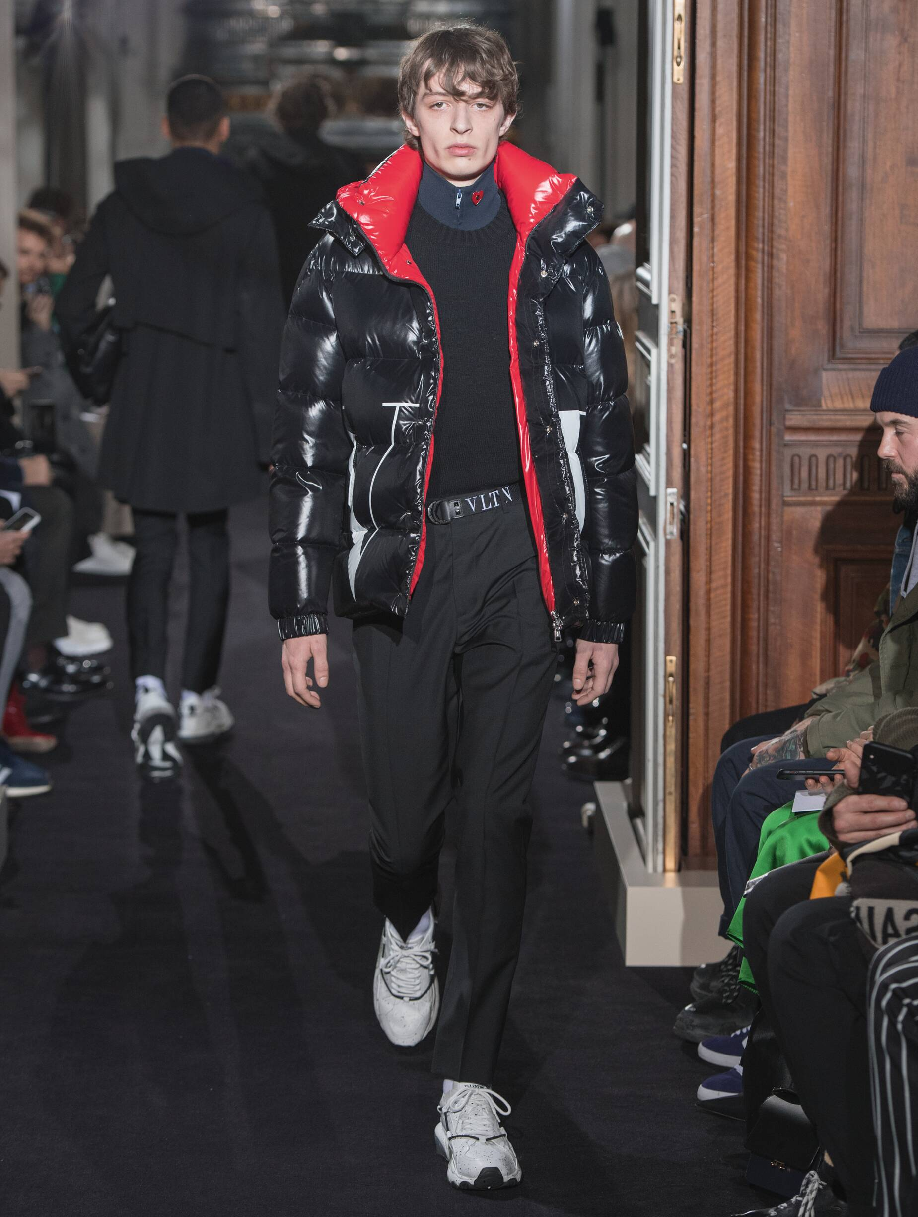 2018 Valentino Man Catwalk