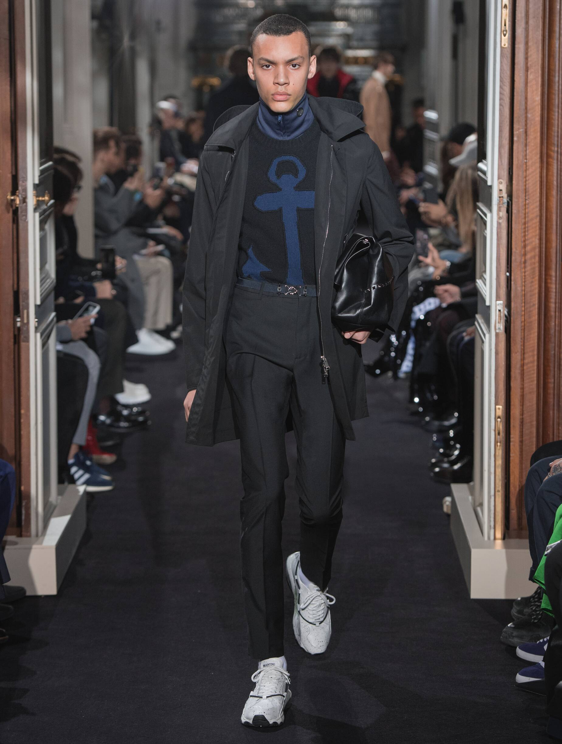 2018 Valentino Man Winter Catwalk