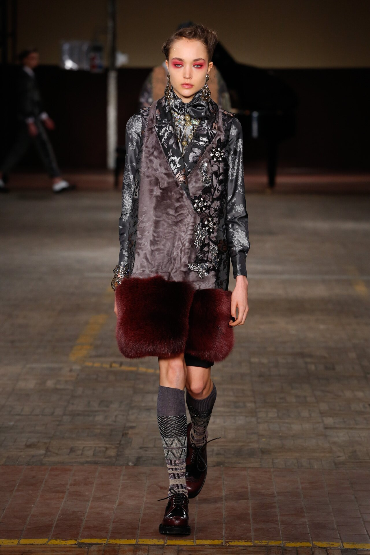 Antonio Marras Fall Winter 2018-19 Fashion Show Look 32