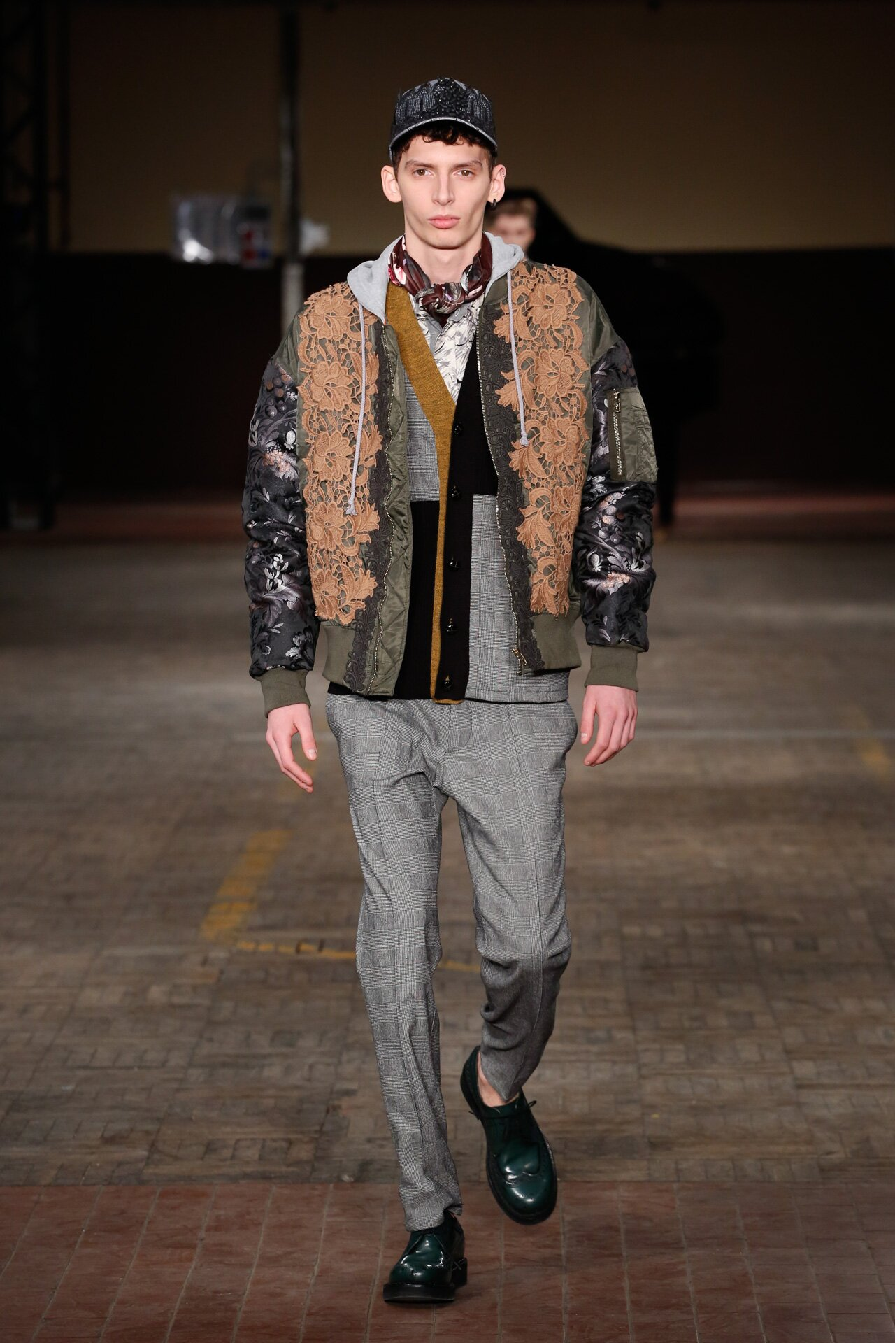 Antonio Marras Fall Winter 2018-19 Fashion Show Look 33