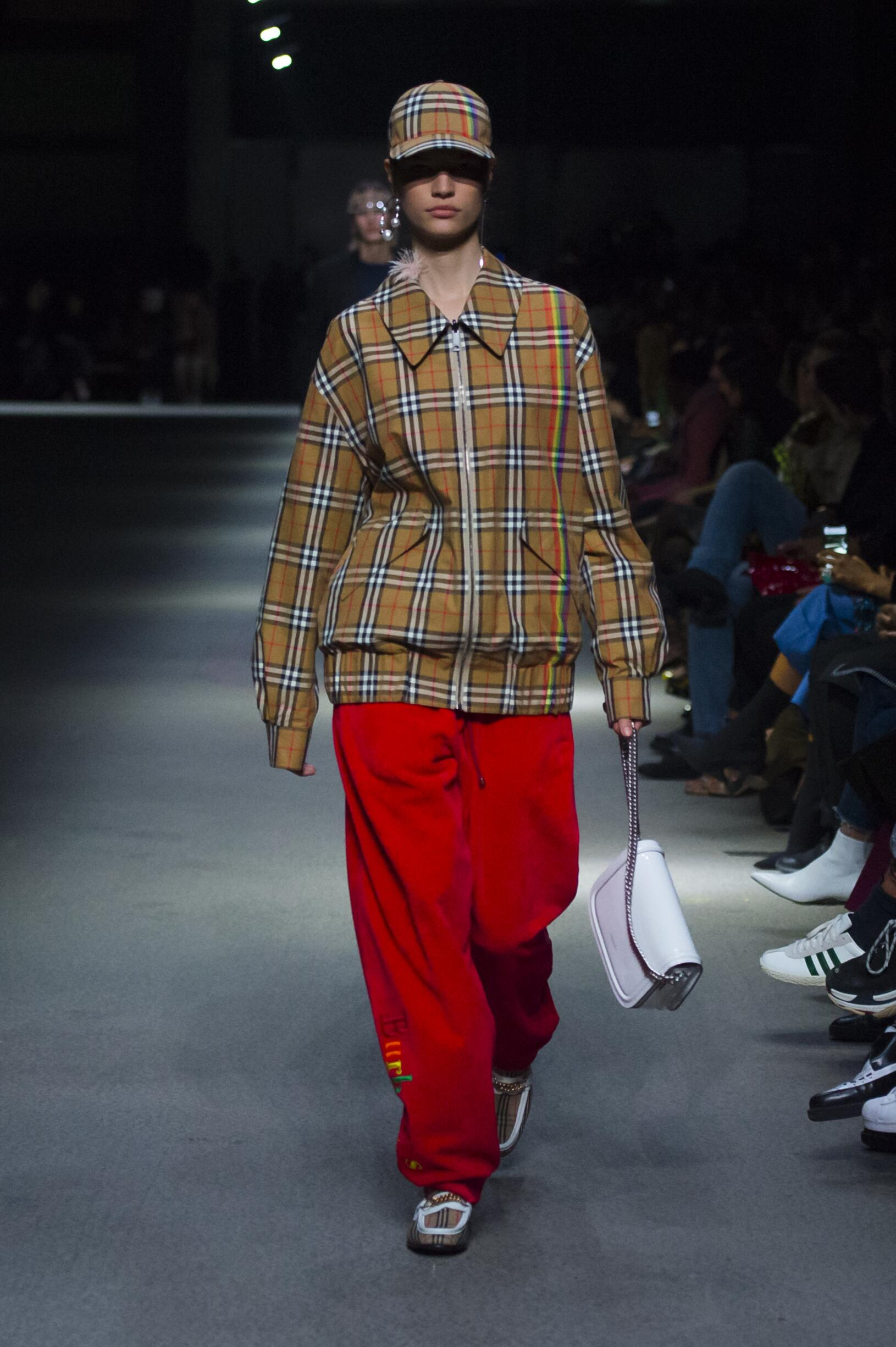 Burberry February 2018 Collection Look 17 London Fashion Week