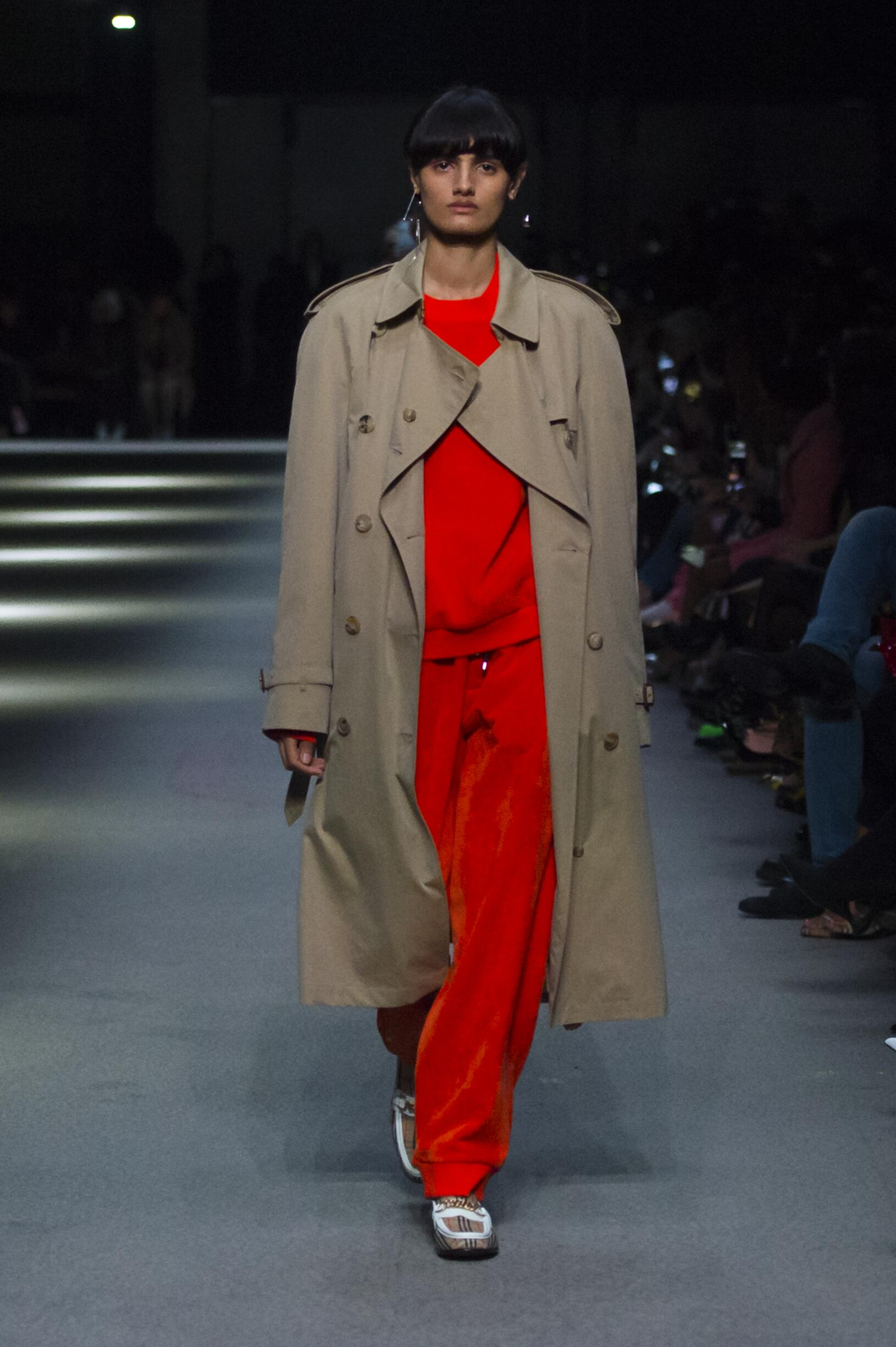 Burberry February 2018 Collection Look 19 London Fashion Week