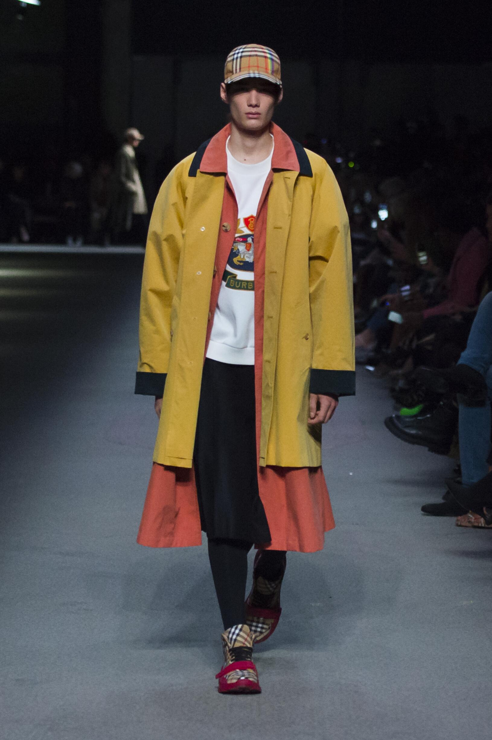 Burberry February 2018 Collection Look 22 London Fashion Week